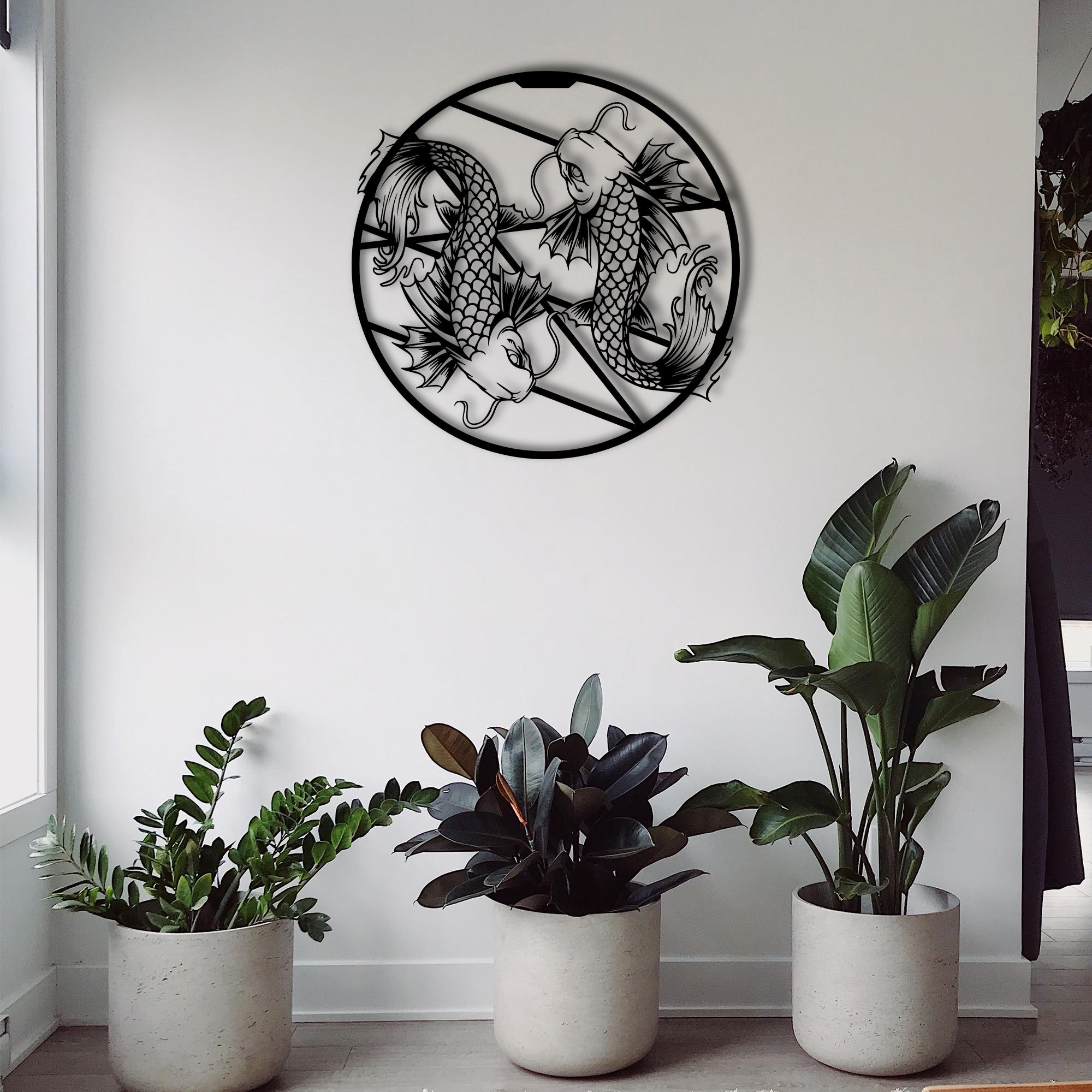 Contrary Kois – Metal Wall Art