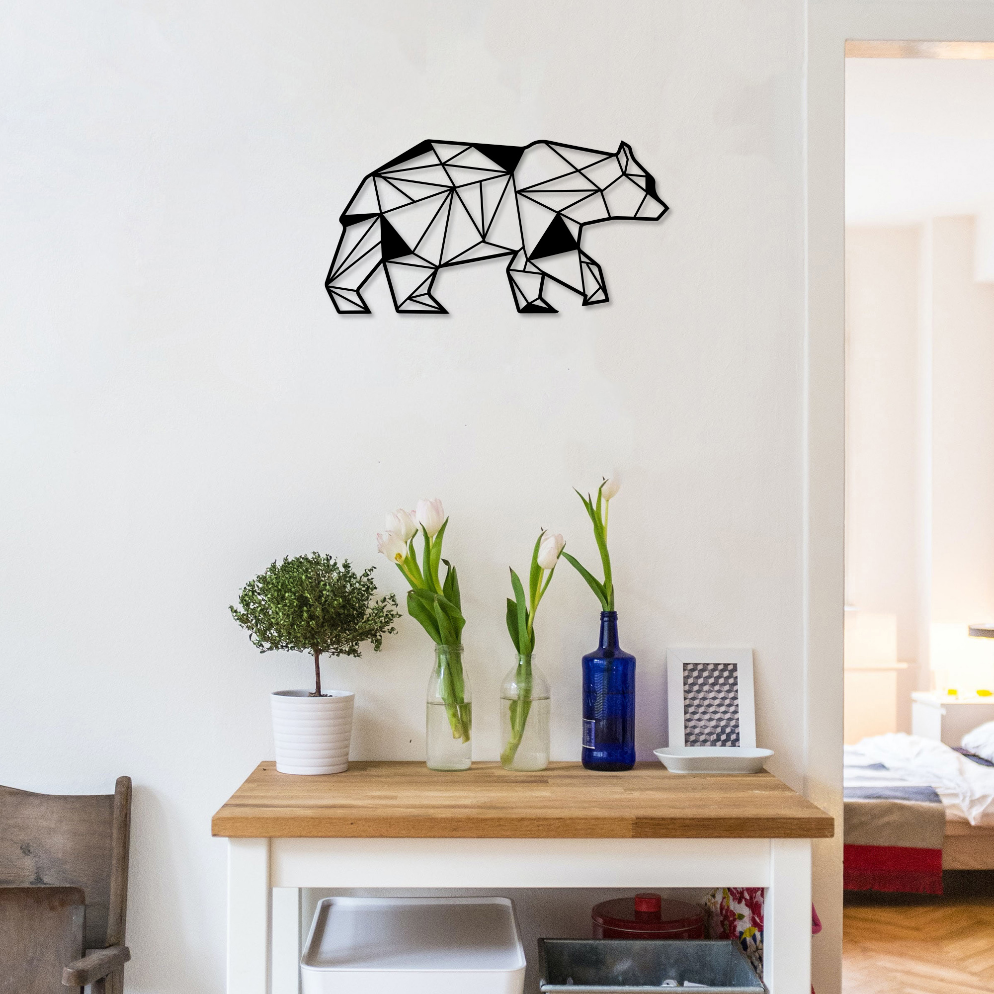Bear – Metal Wall Art