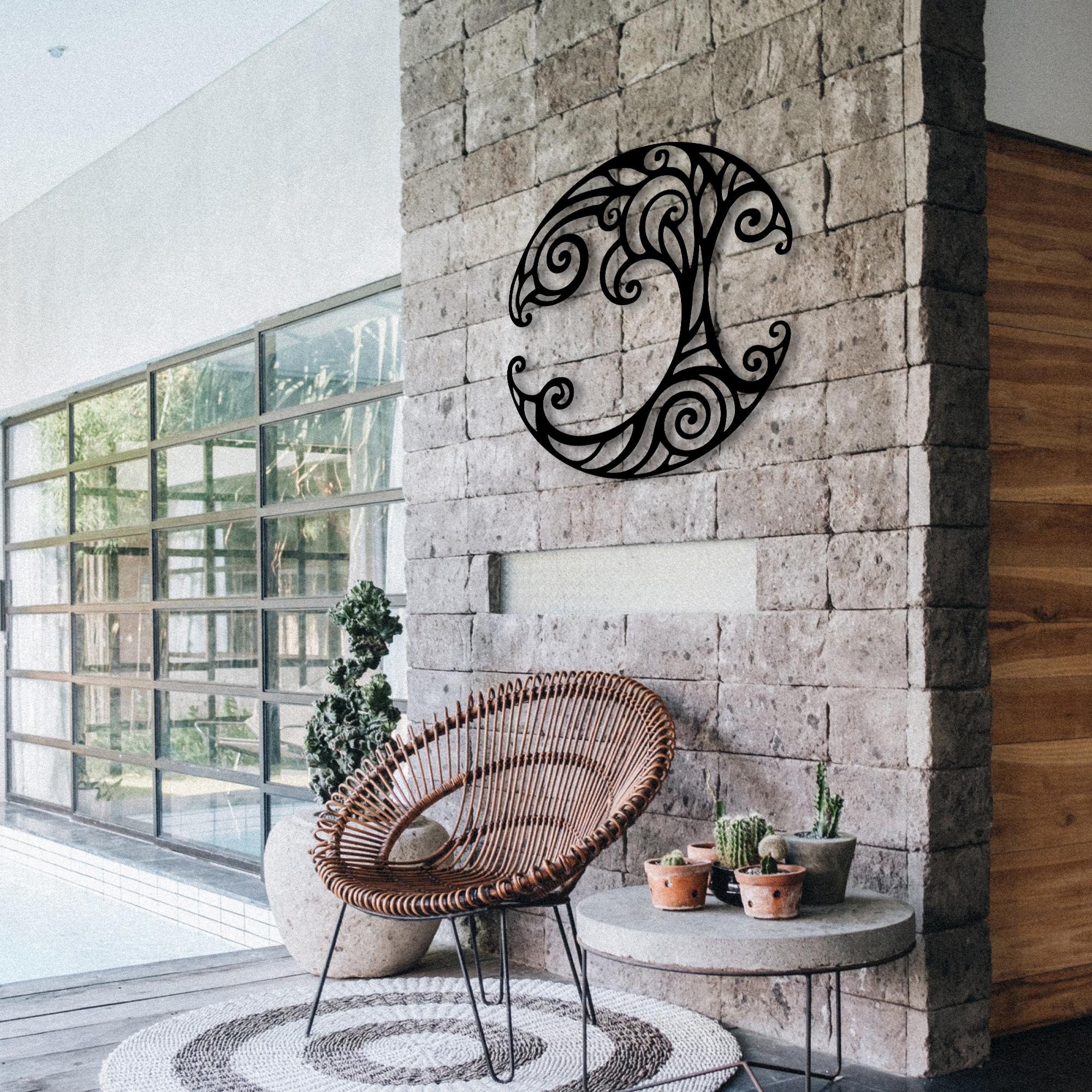 Ivy Tree – Metal Wall Art