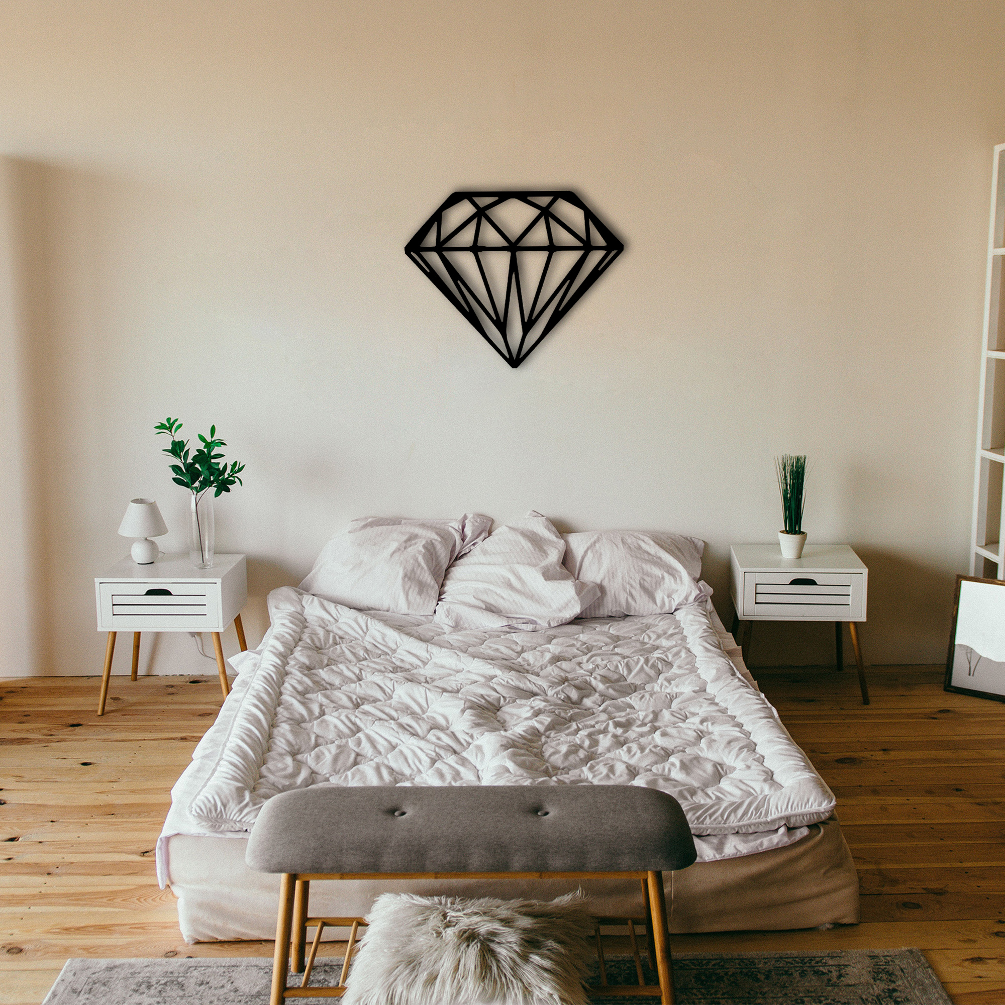 Diamond – Metal Wall Art