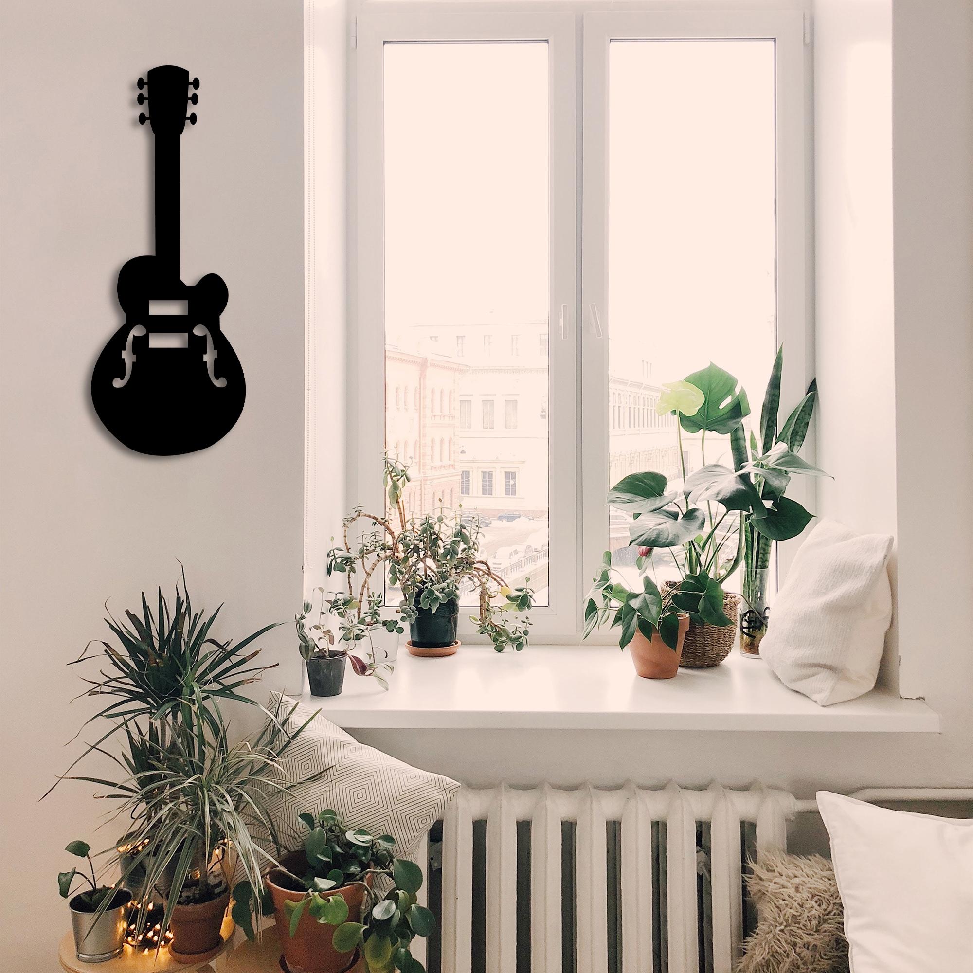 Acoustic Guitar I – Metal Wall Art