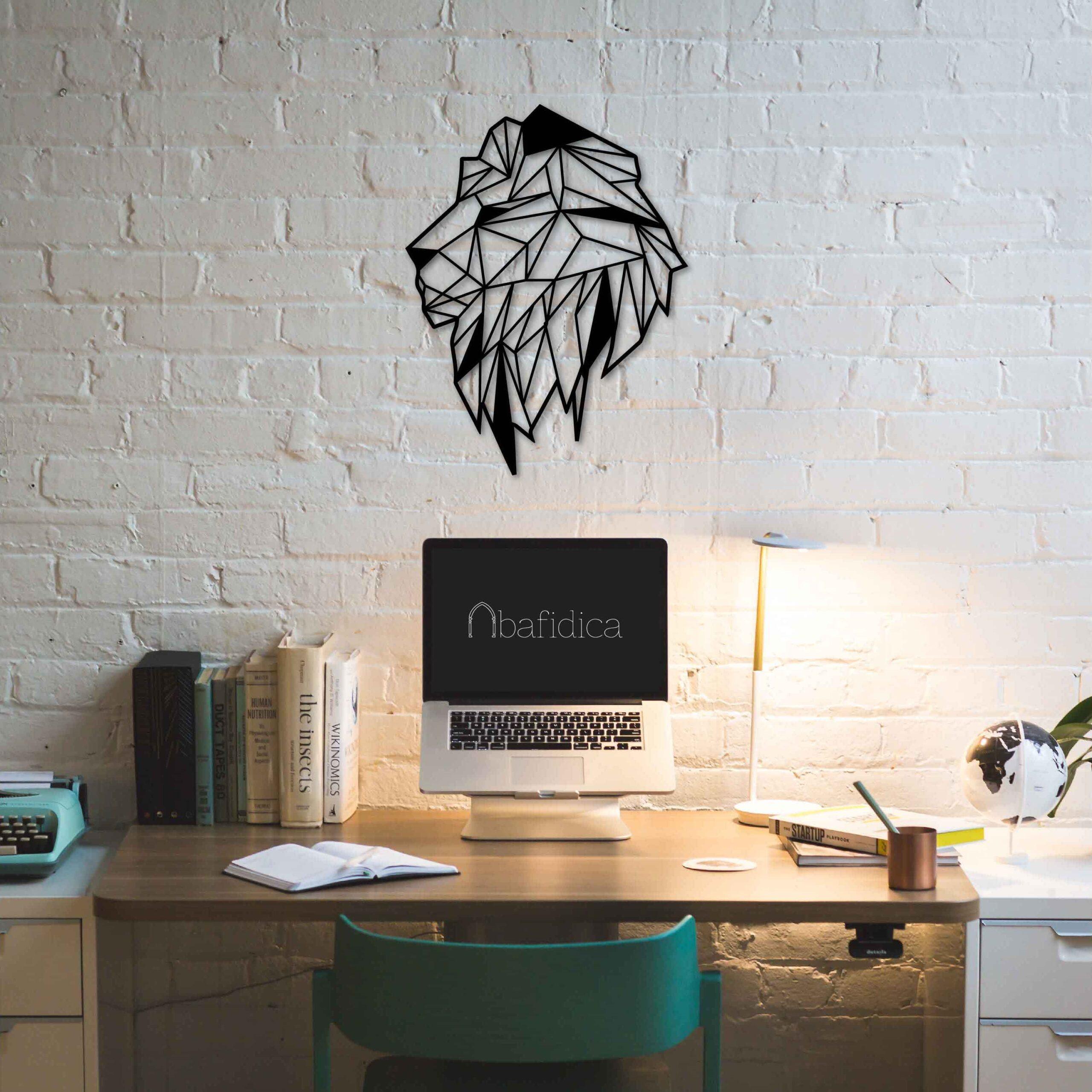Lion – Metal Wall Art
