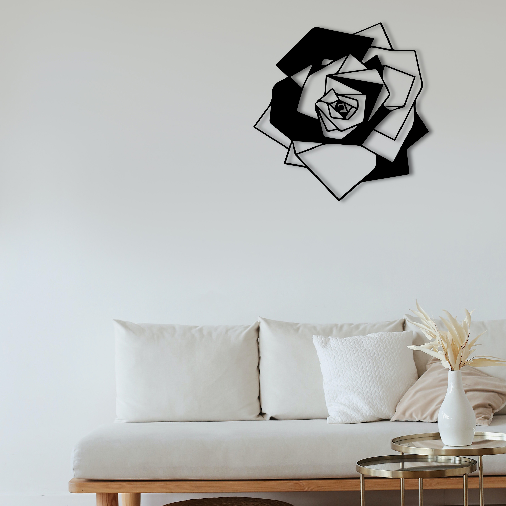 Rose  – Metal Wall Art