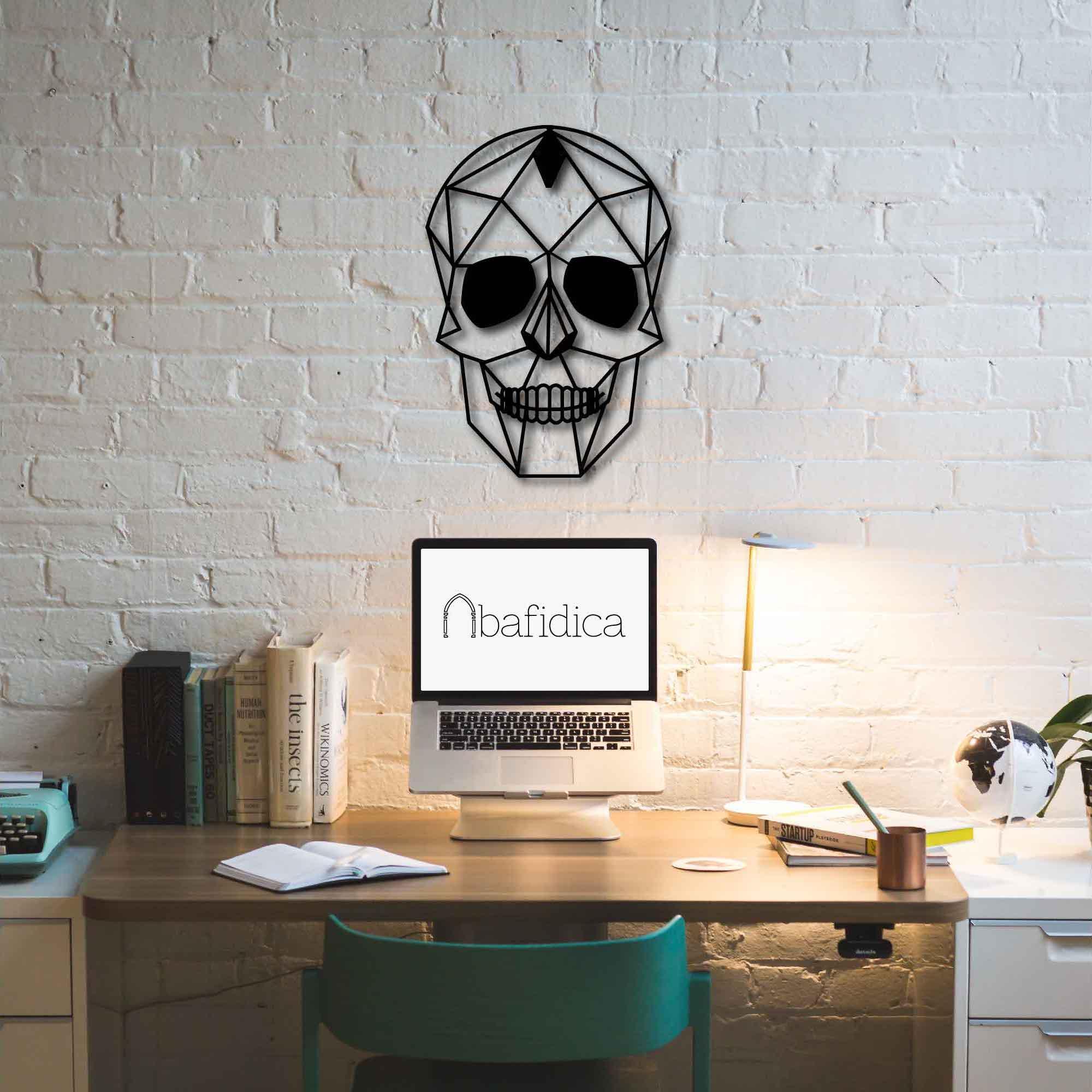 Skull – Metal Wall Art