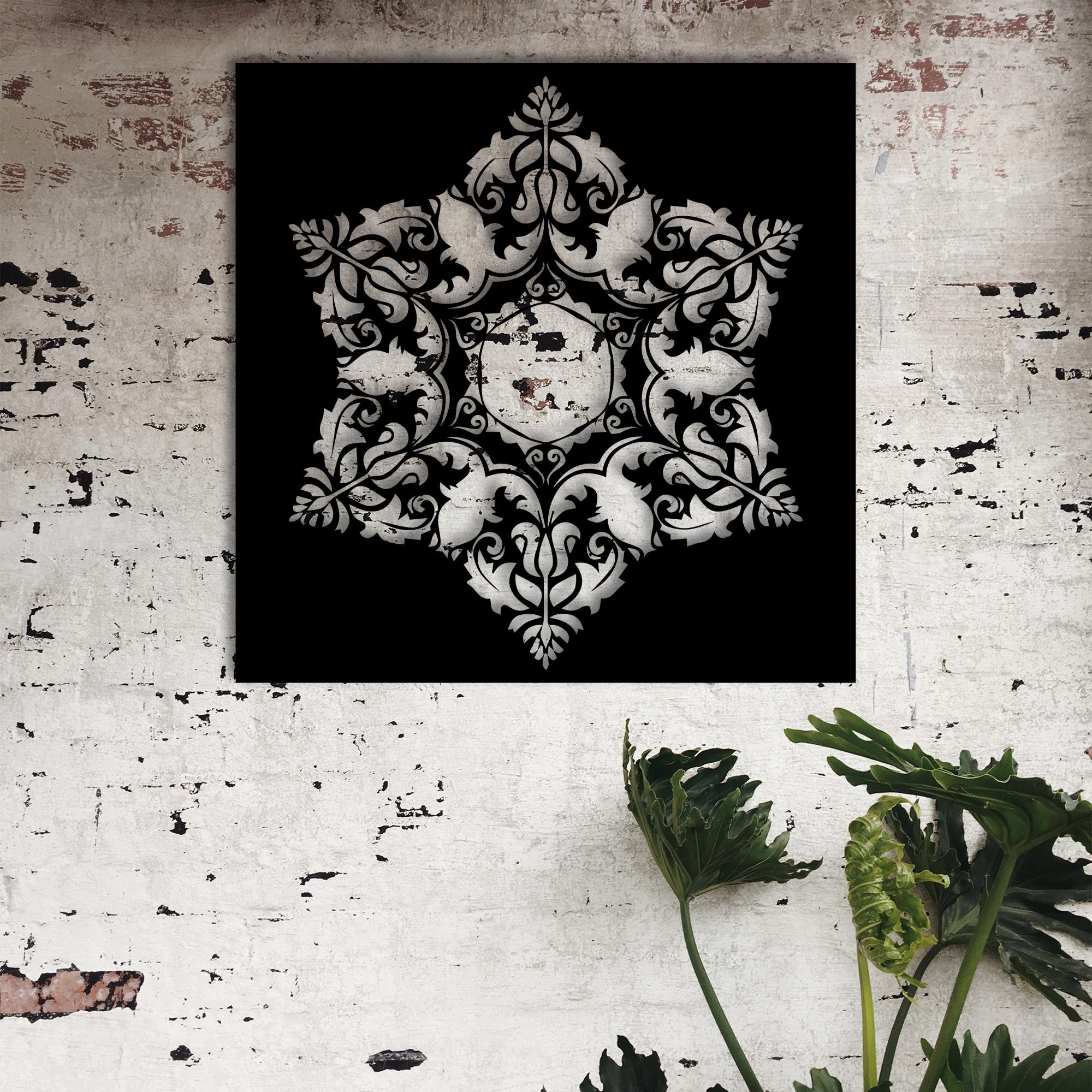 Mandala II – Metal Wall Art
