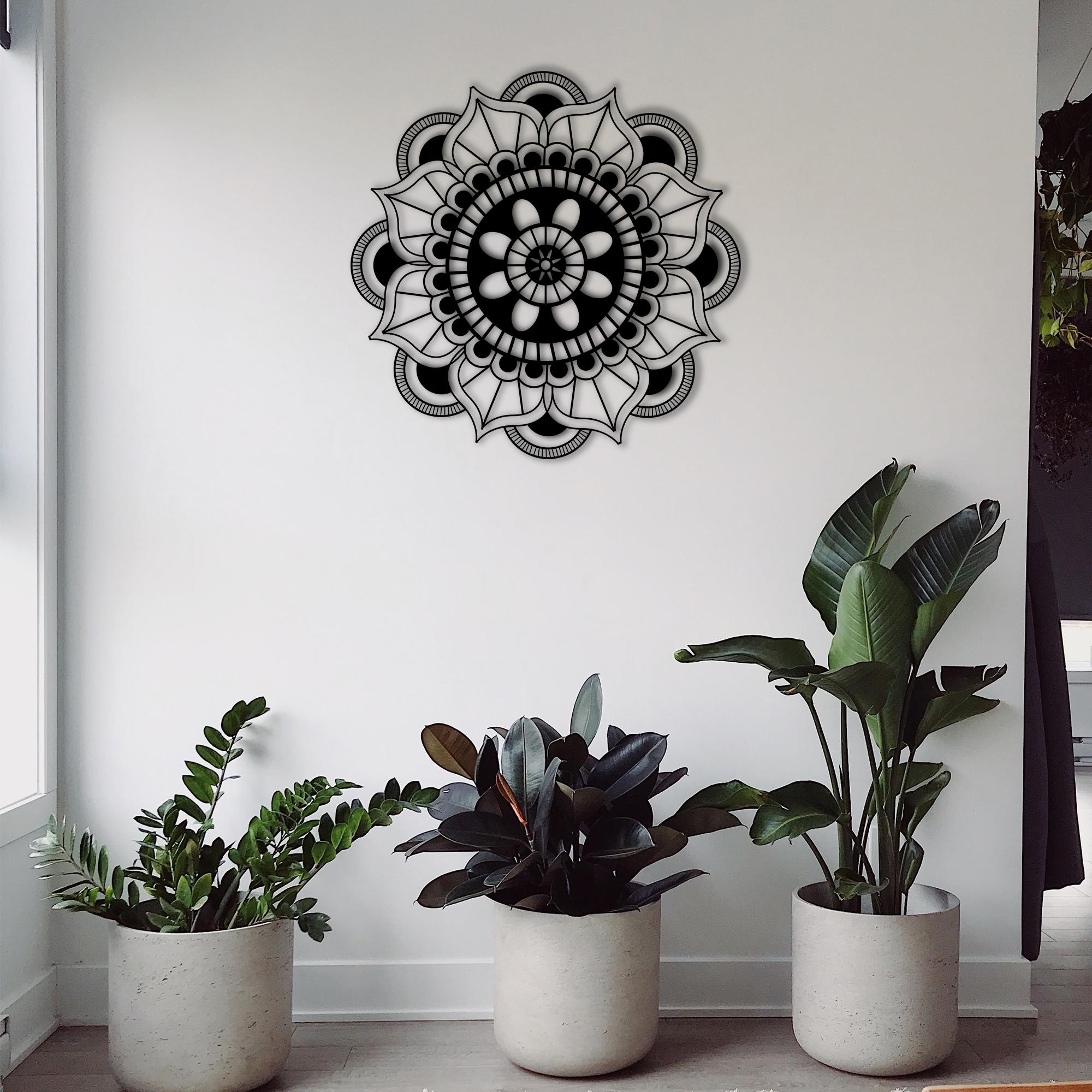 Mandala I – Metal Wall Art