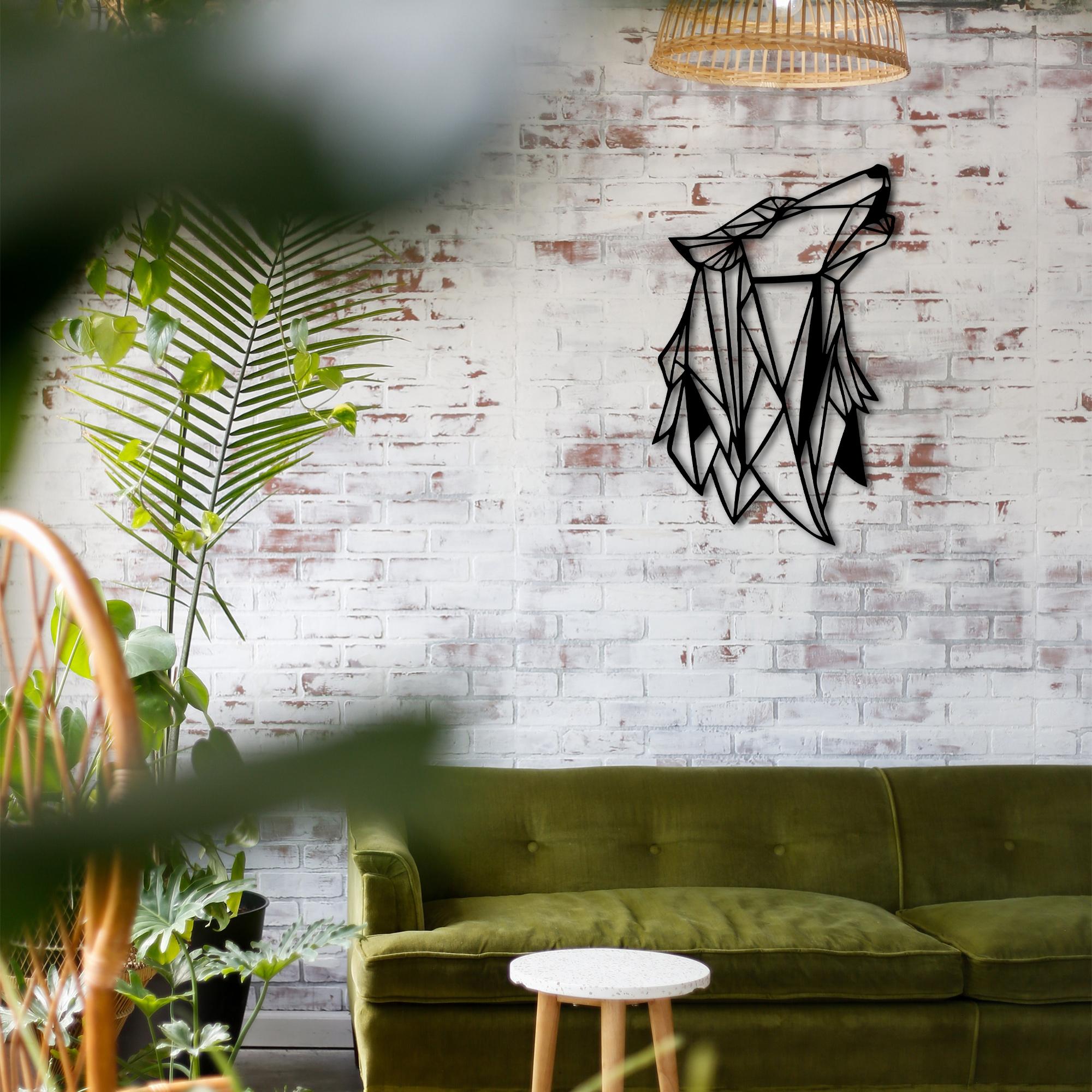 Wolf – Metal Wall Art