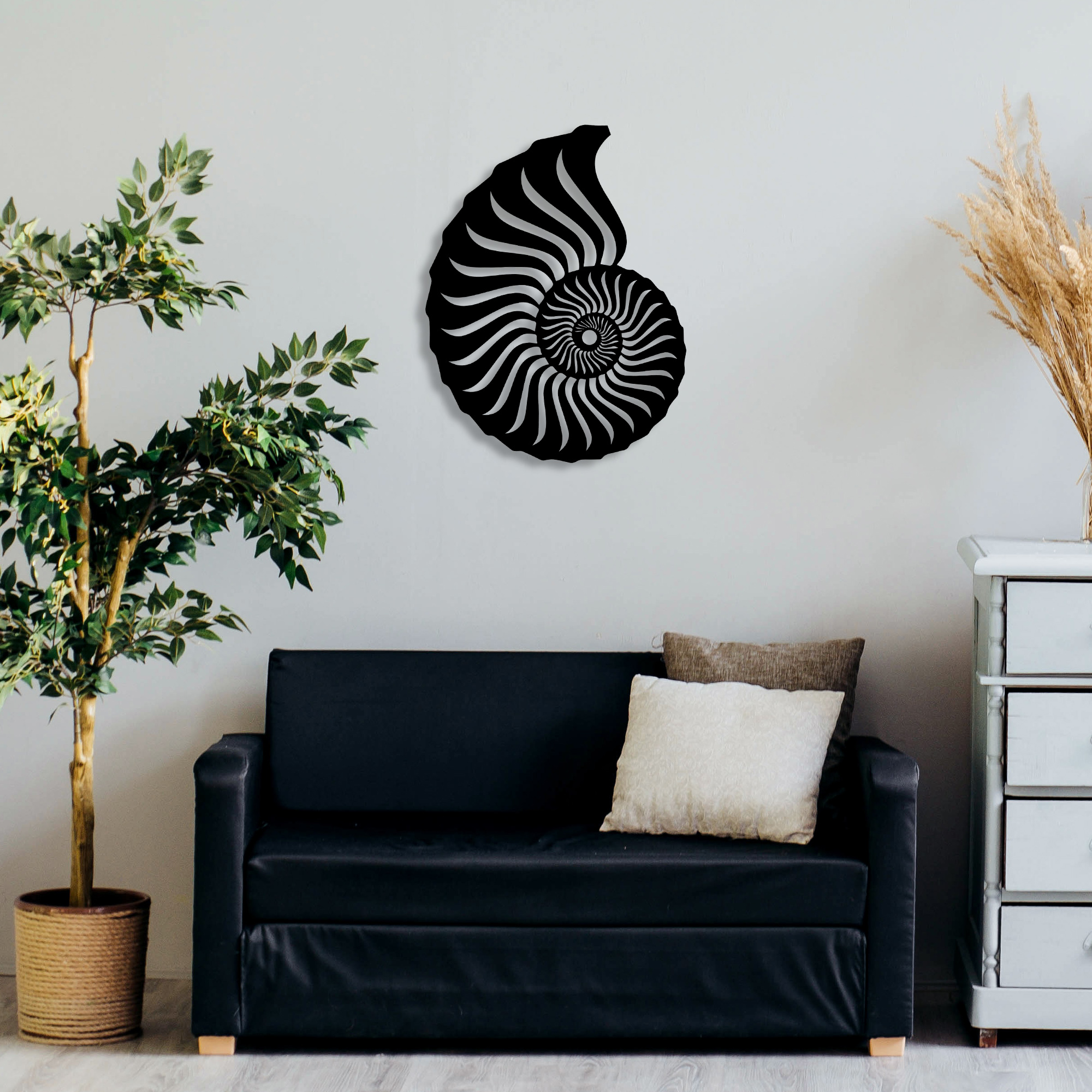 Ammonite – Metal Wall Art