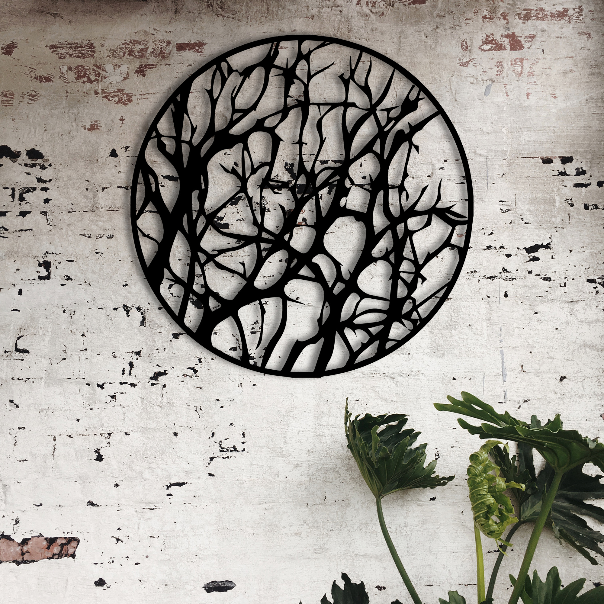Forest Shade – Metal Wall Art
