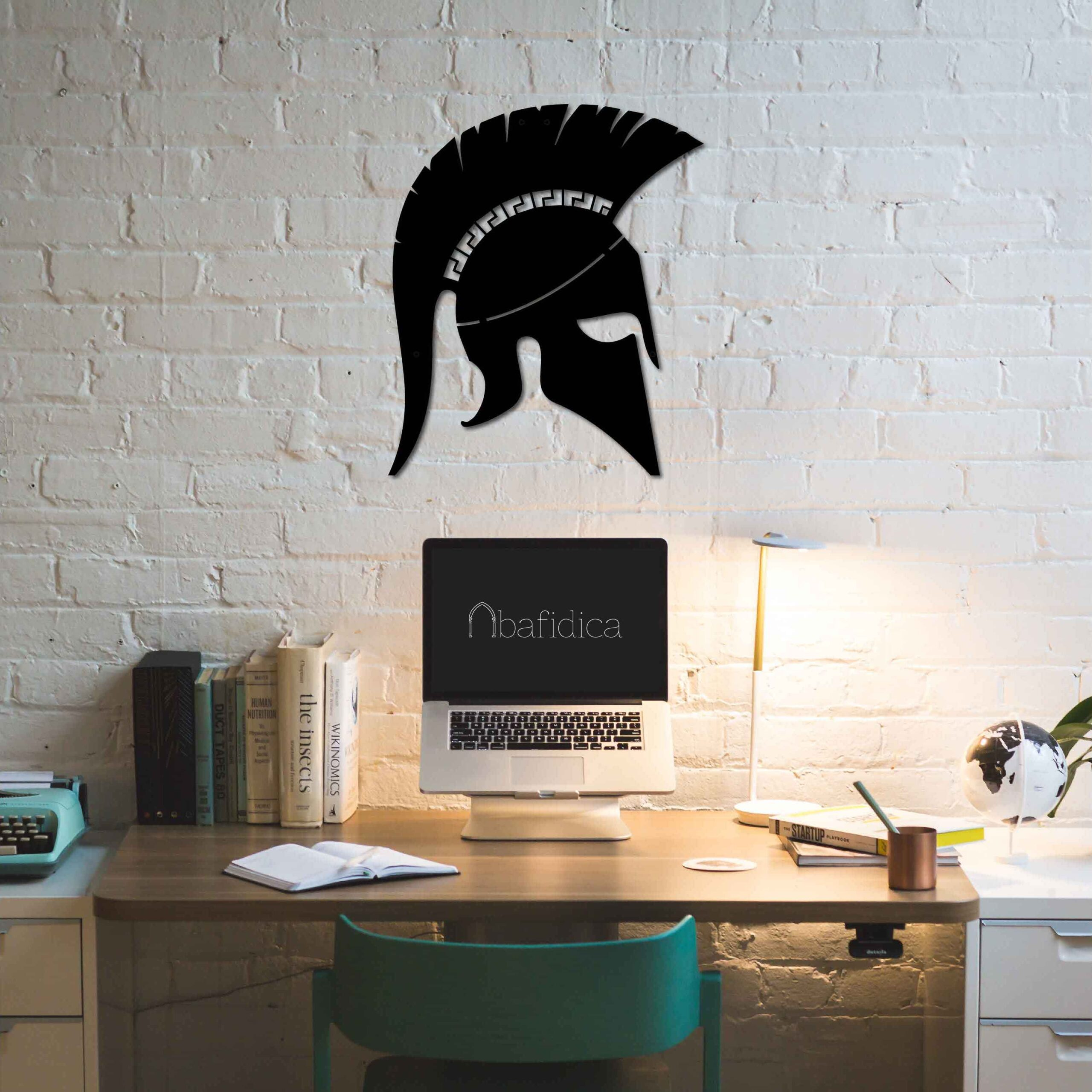 Spartan Helmet  – Metal Wall Art