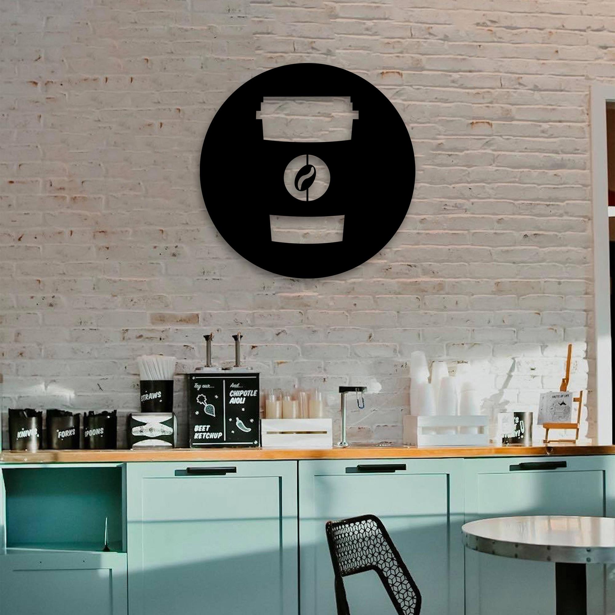 Coffee on the Run – Metal Wall Art