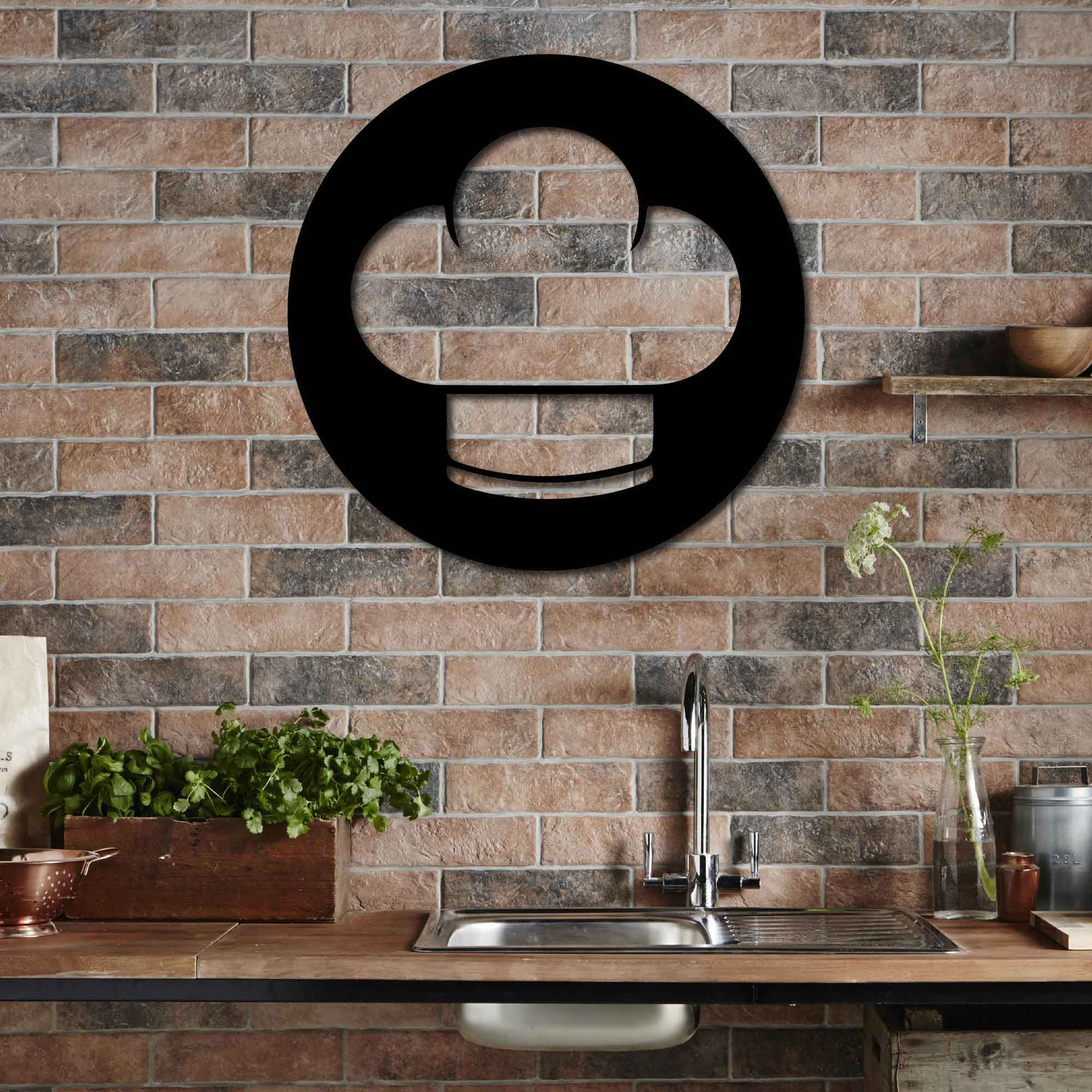 Chef's Hat  – Metal Wall Art
