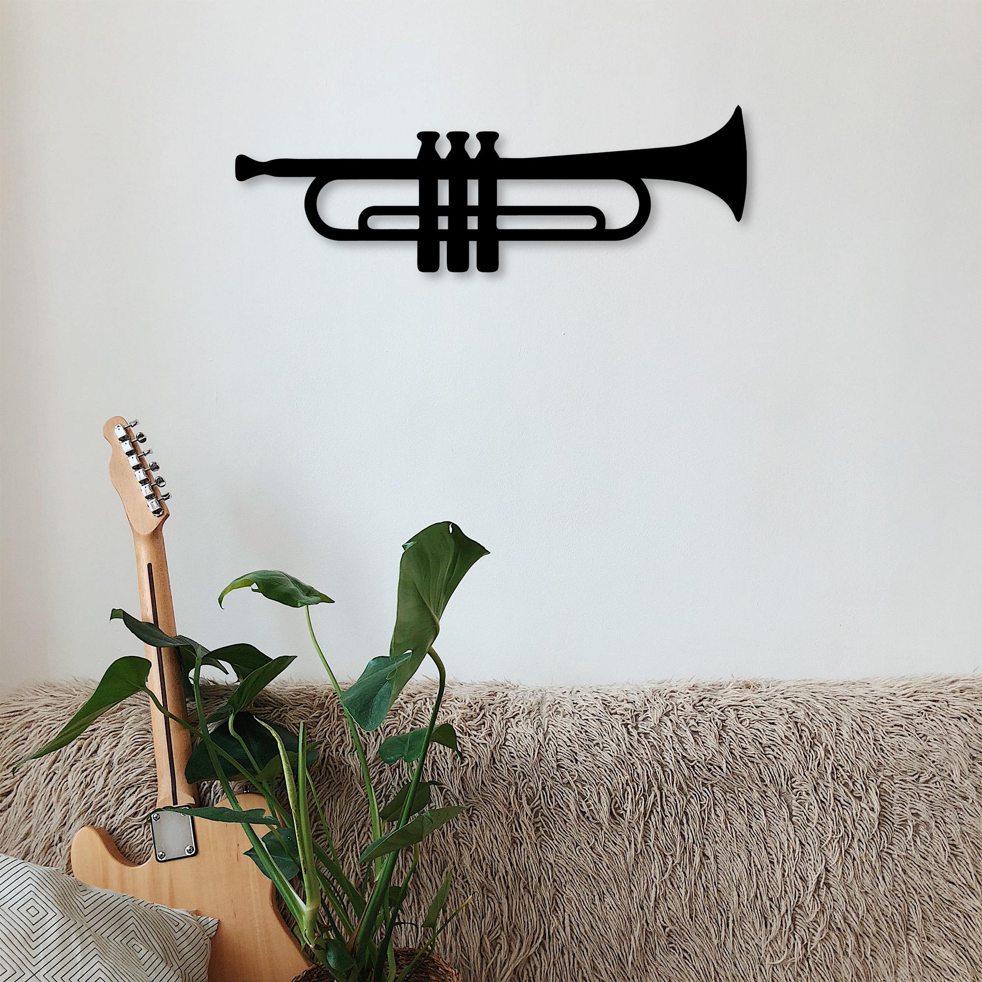 Trumpet – Metal Wall Art