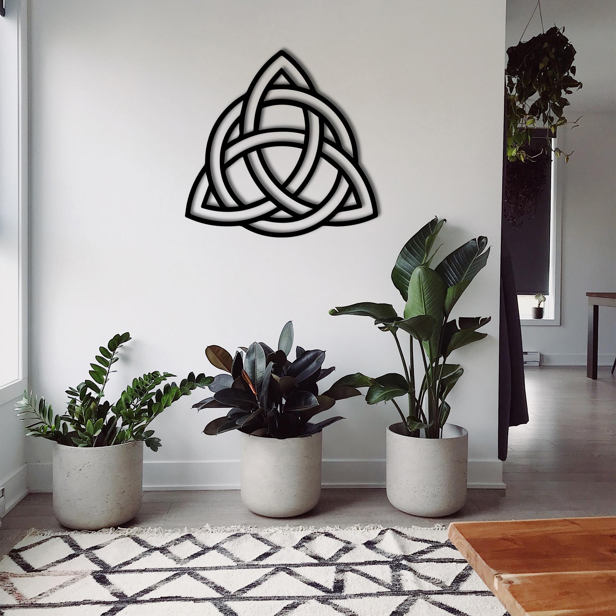 Trinity Knot I – Metal Wall Art