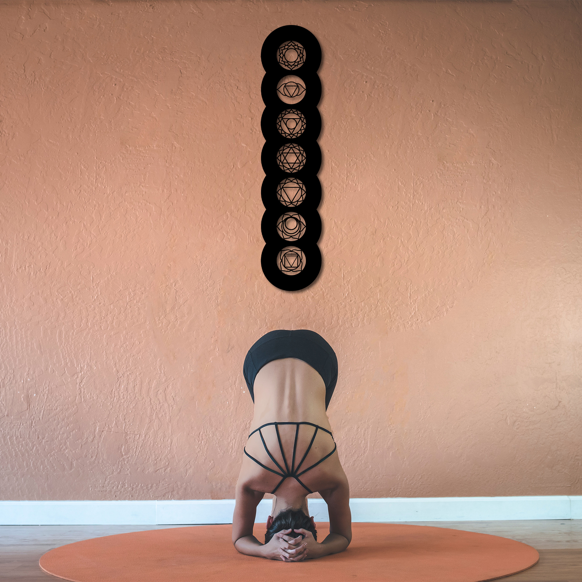 Chakras II  – Metal Wall Art