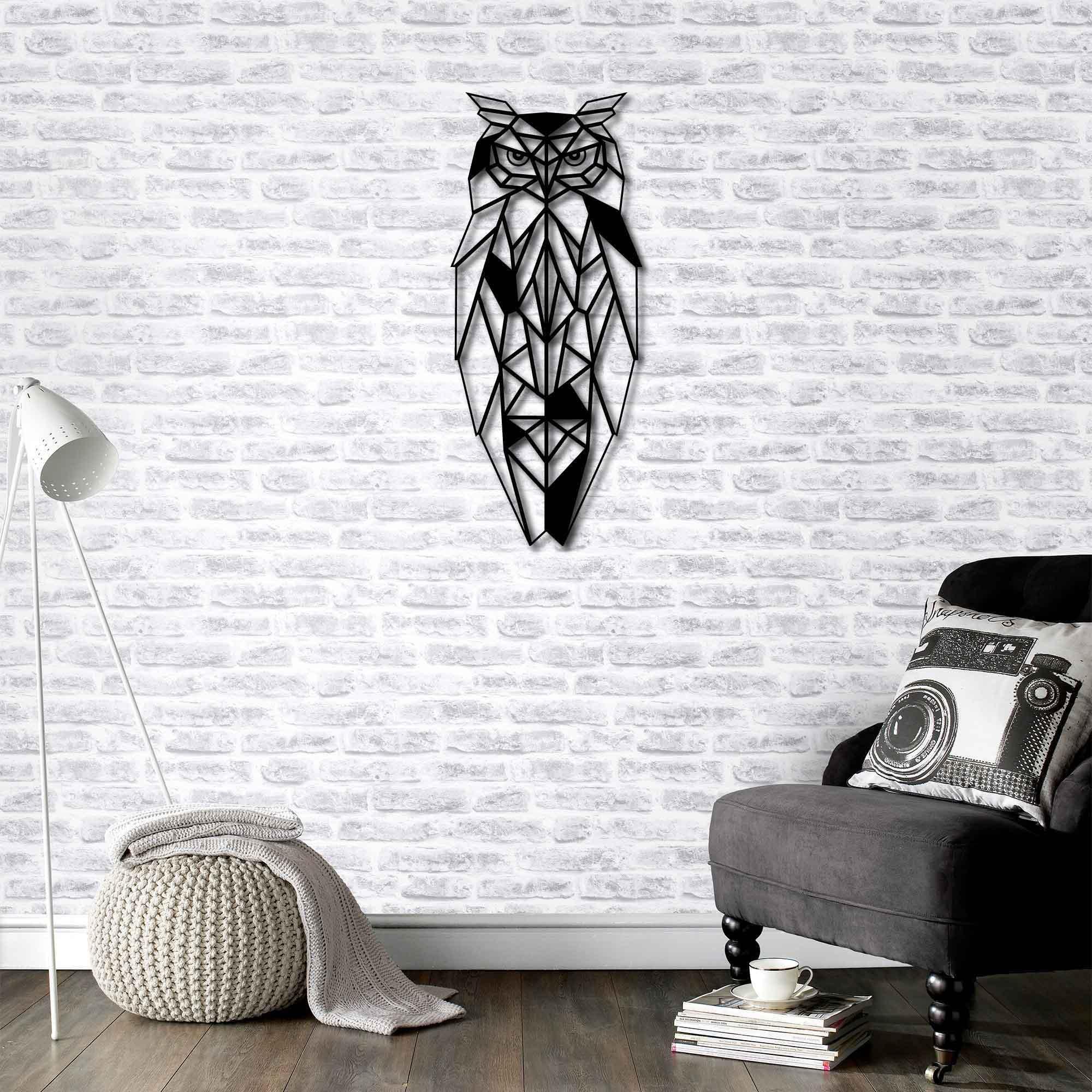 Owl – Metal Wall Art