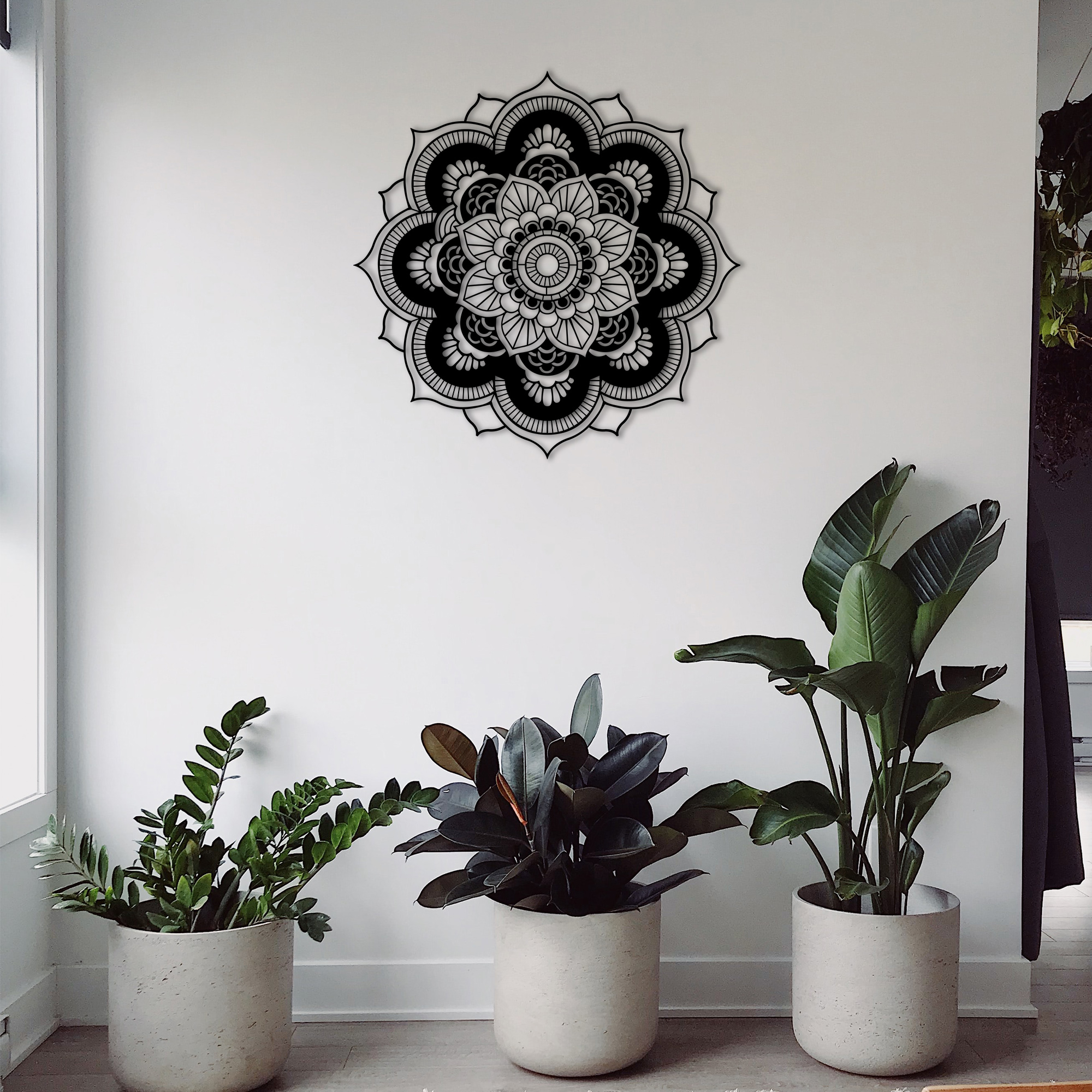 Mandala III – Metal Wall Art
