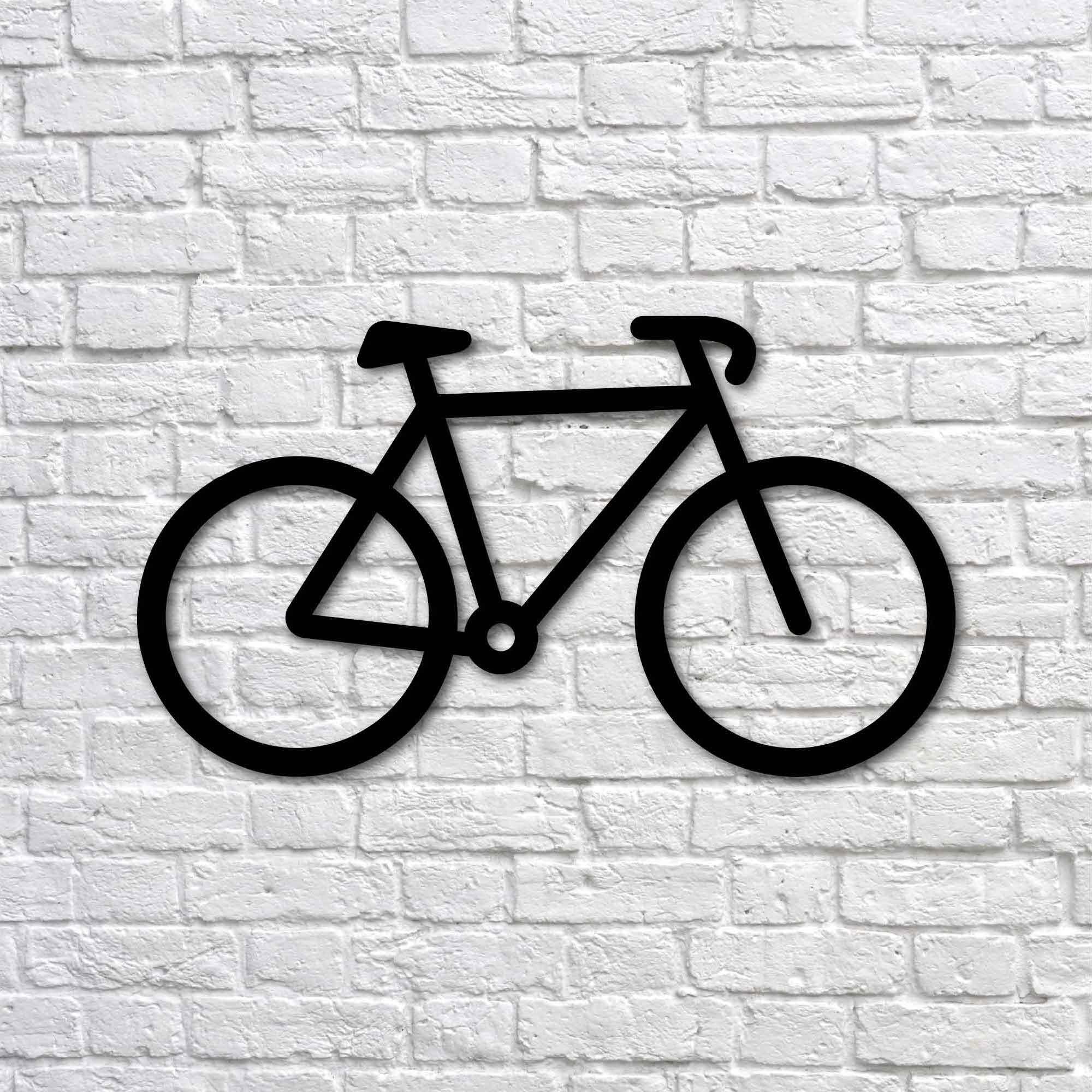 Bicycle – Mini Metal Wall Art