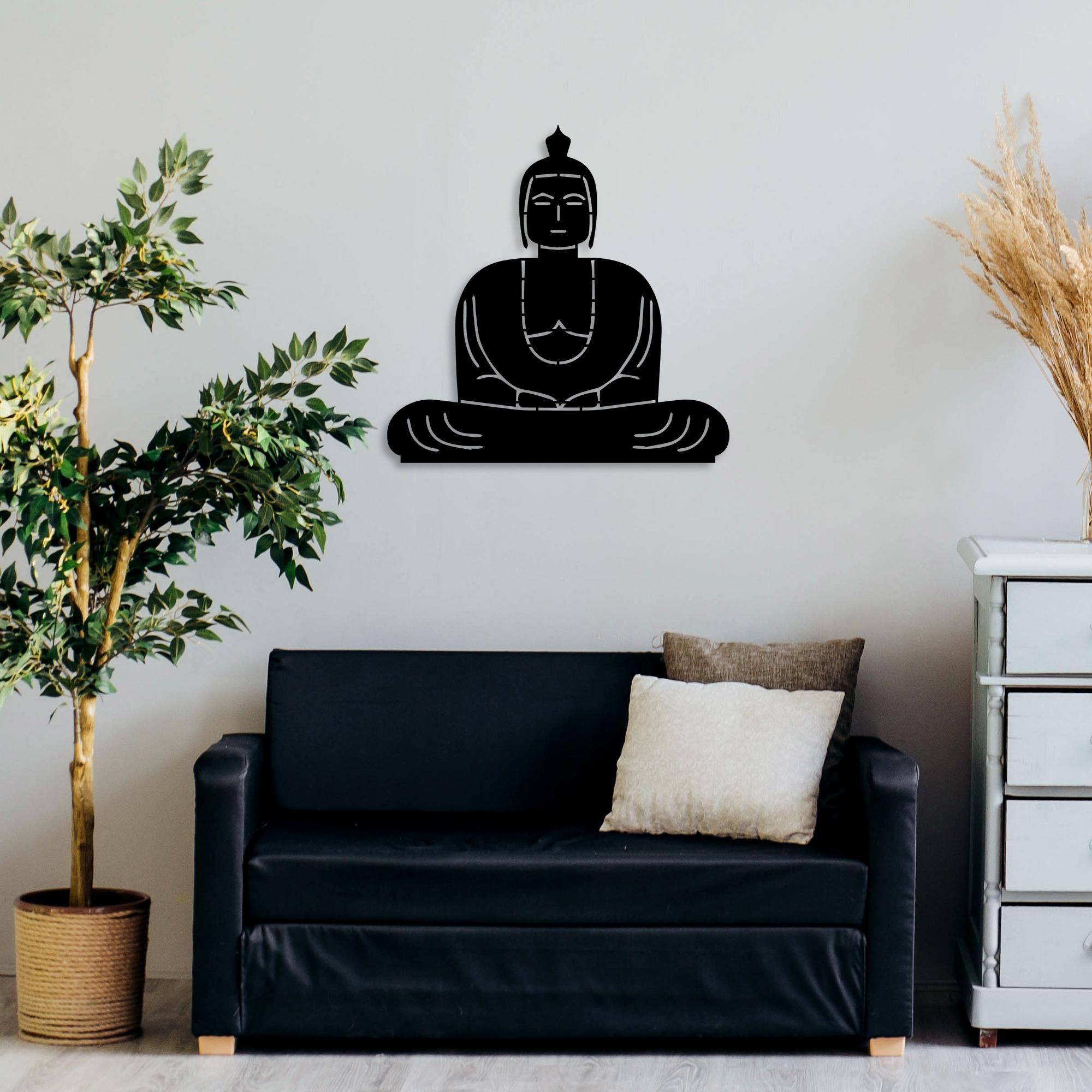 Buddha – Metal Wall Art