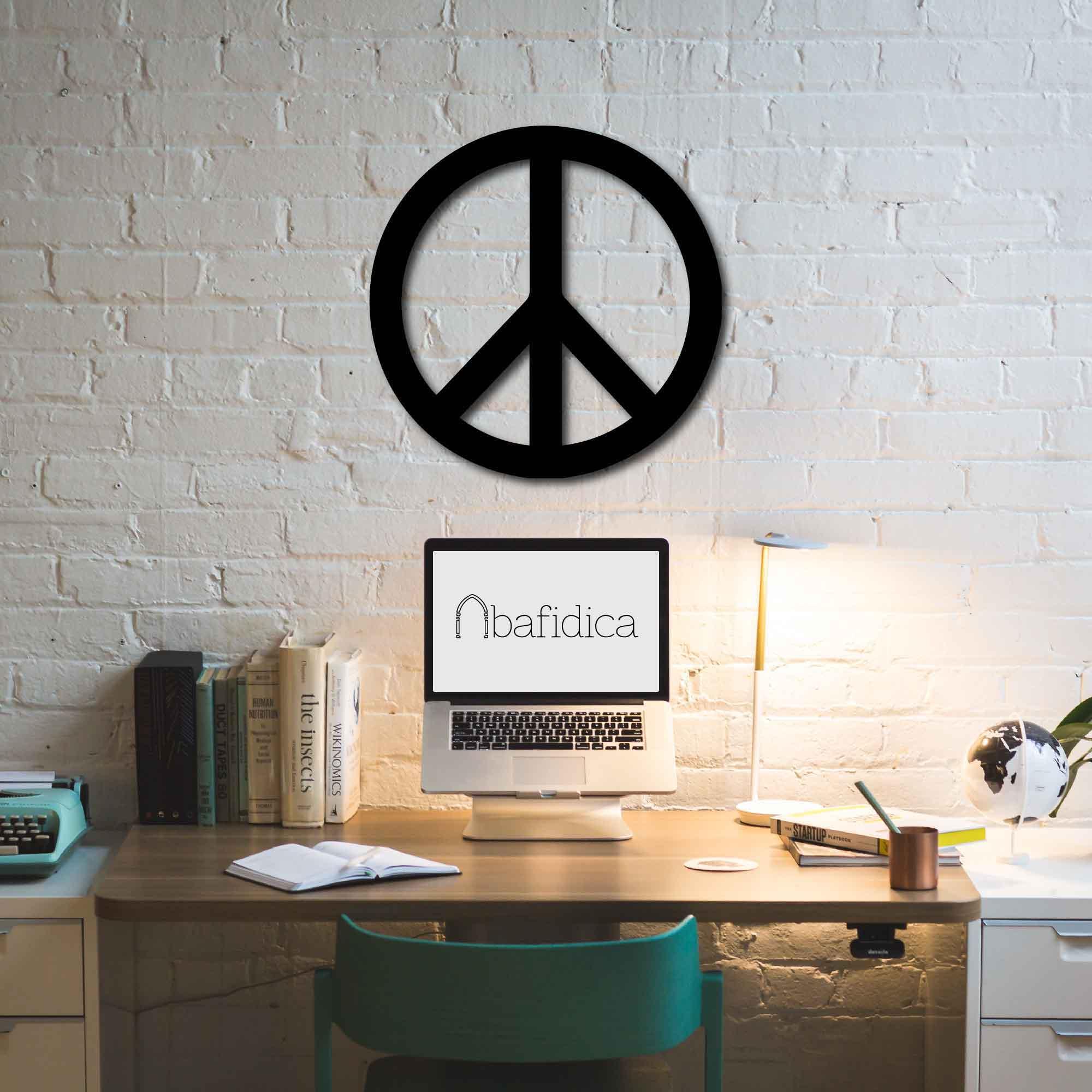 Peace Sign – Metal Wall Art