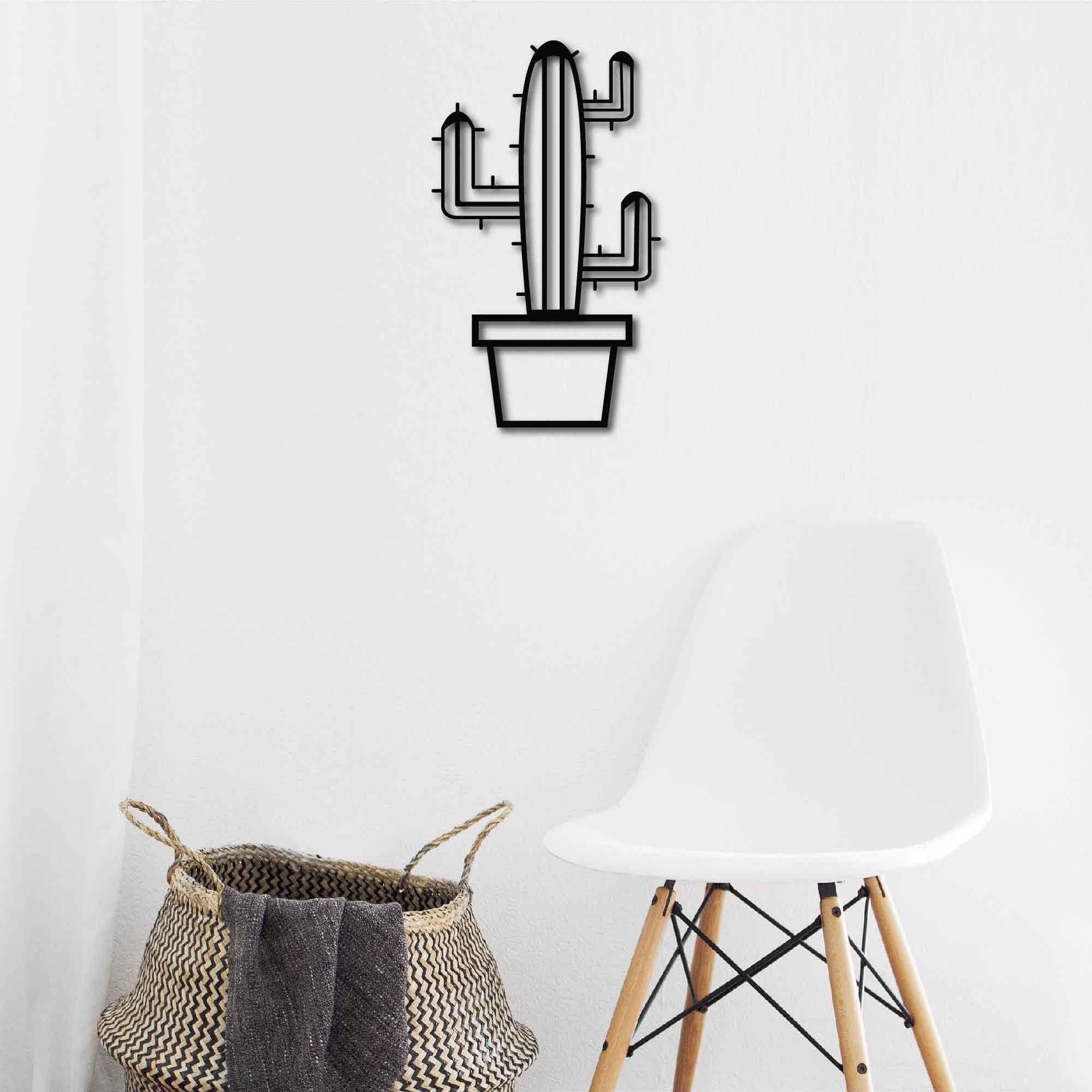 Cactus III – Metal Wall Art