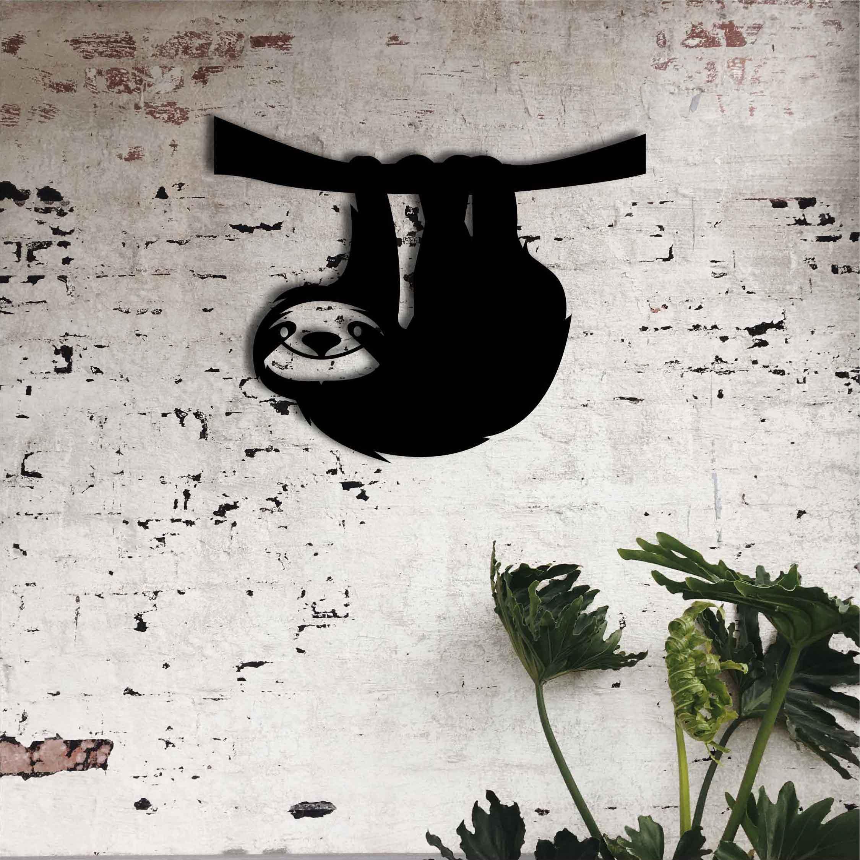 Sloth – Metal Wall Art