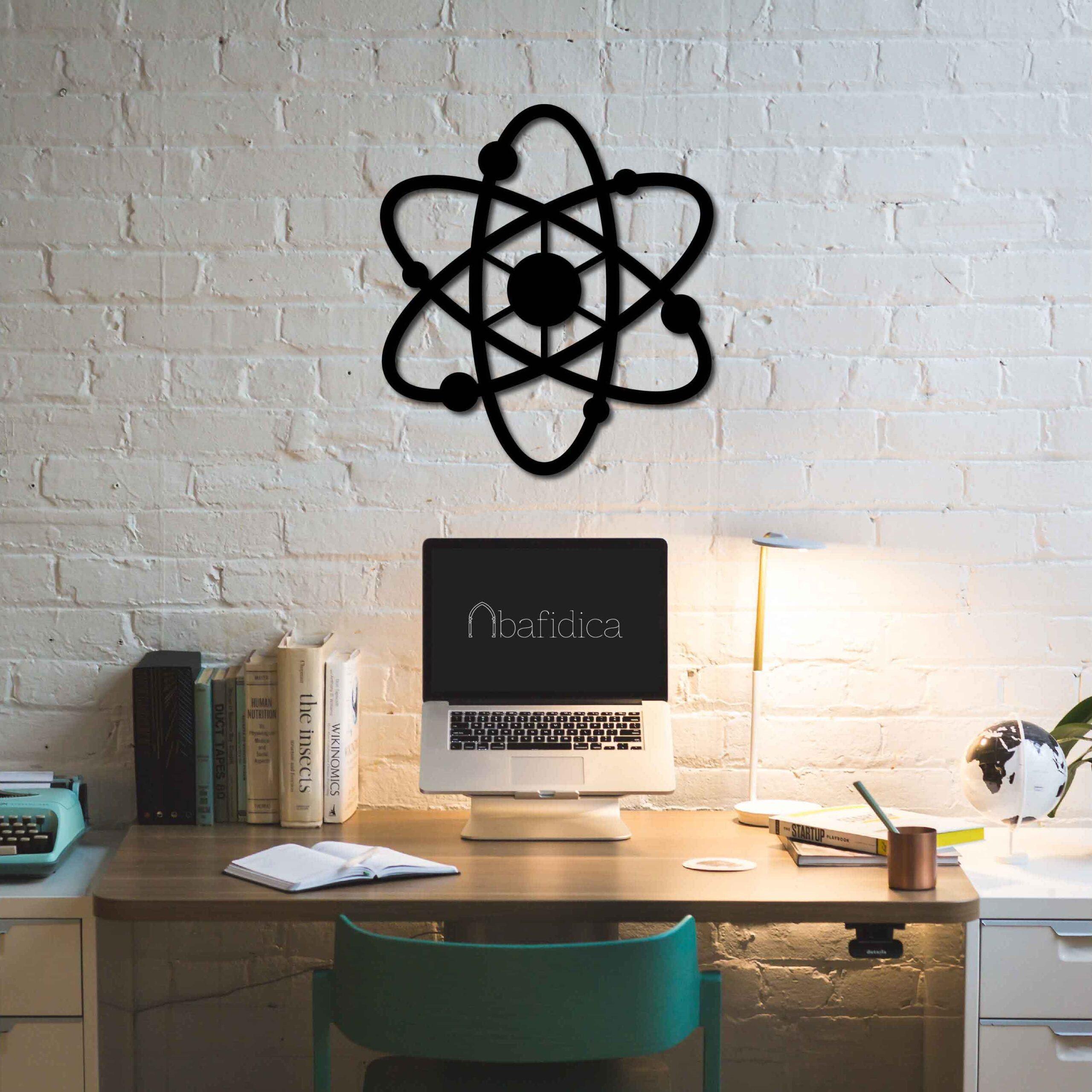 Atom II – Metal Wall Art