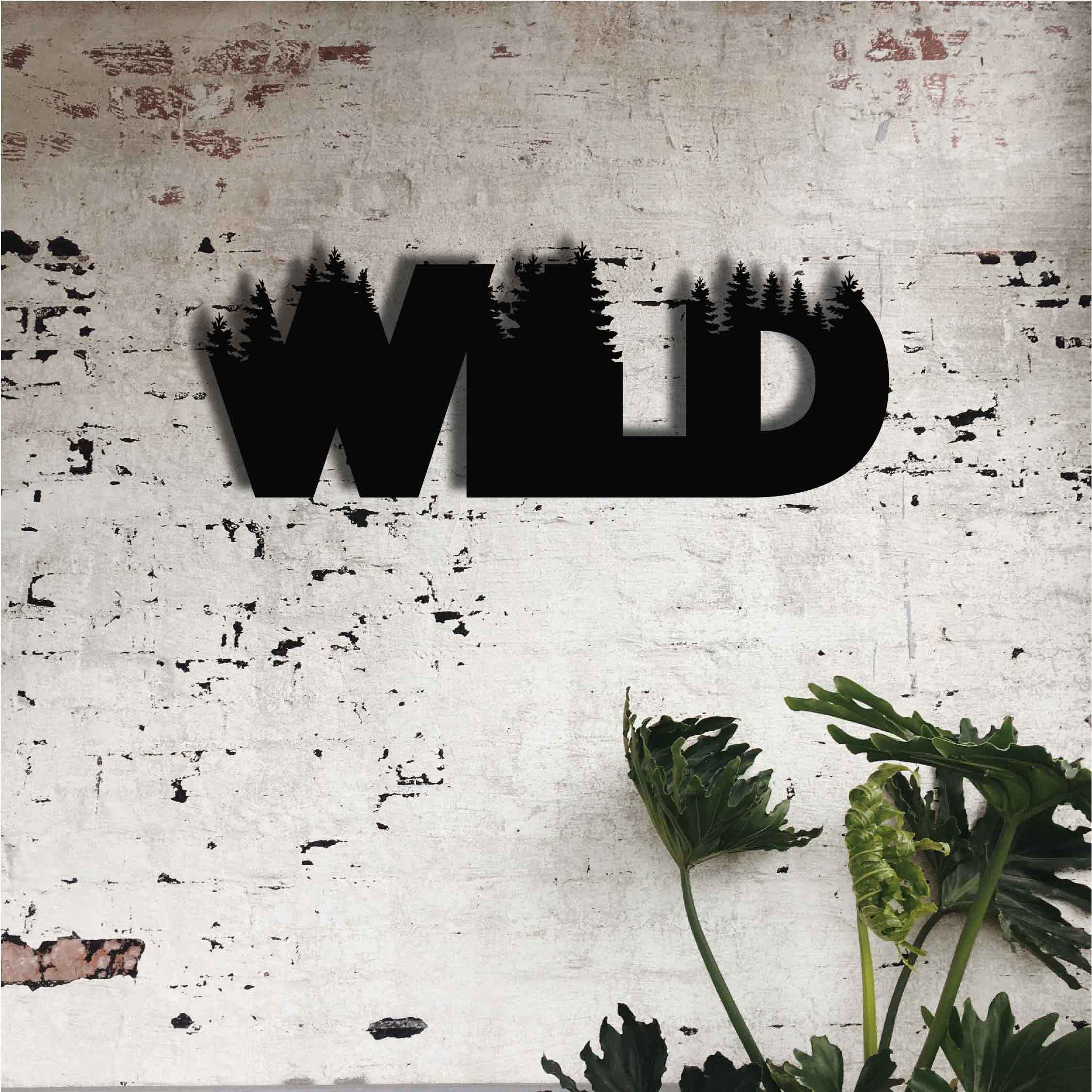 Wild – Metal Wall Art