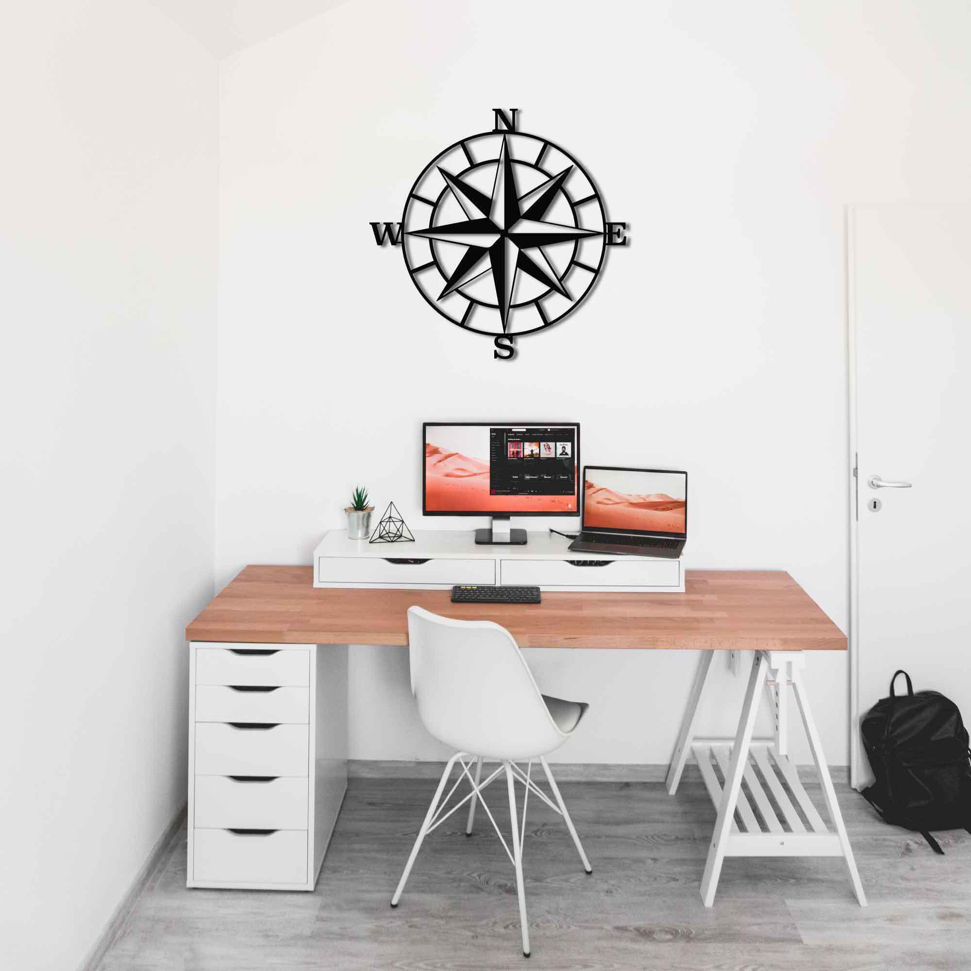 Compass – Metal Wall Art