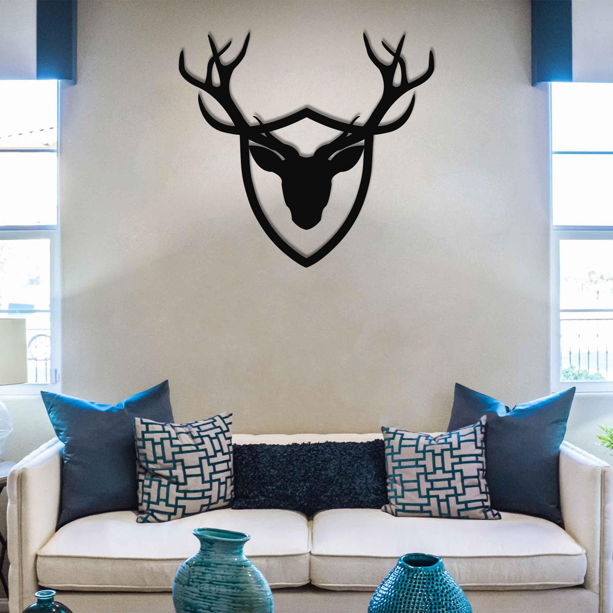 Deer Trophy – Metal Wall Art