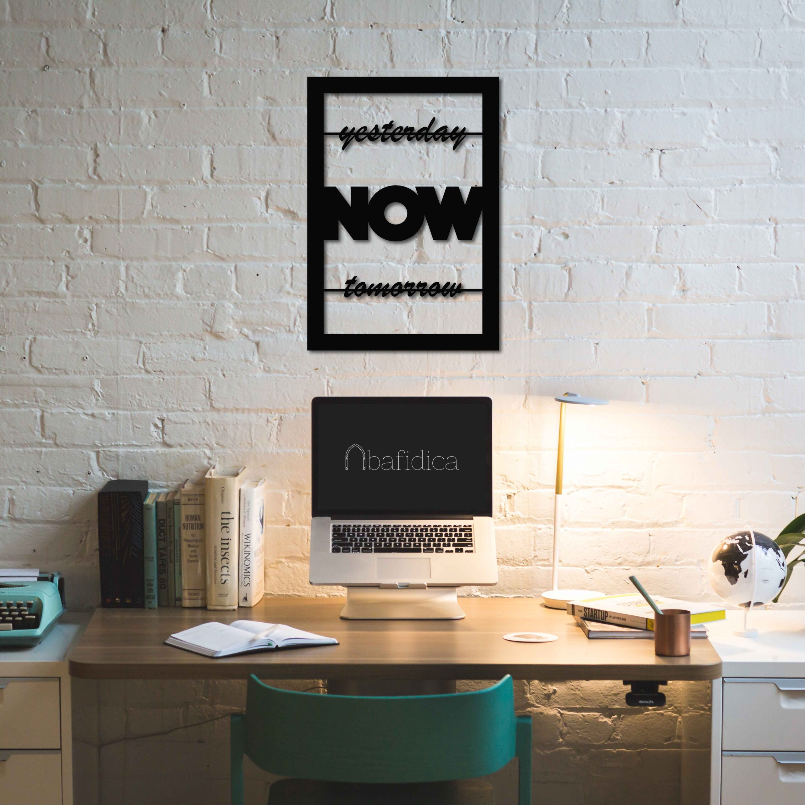 Now Motivational – Metal Wall Art
