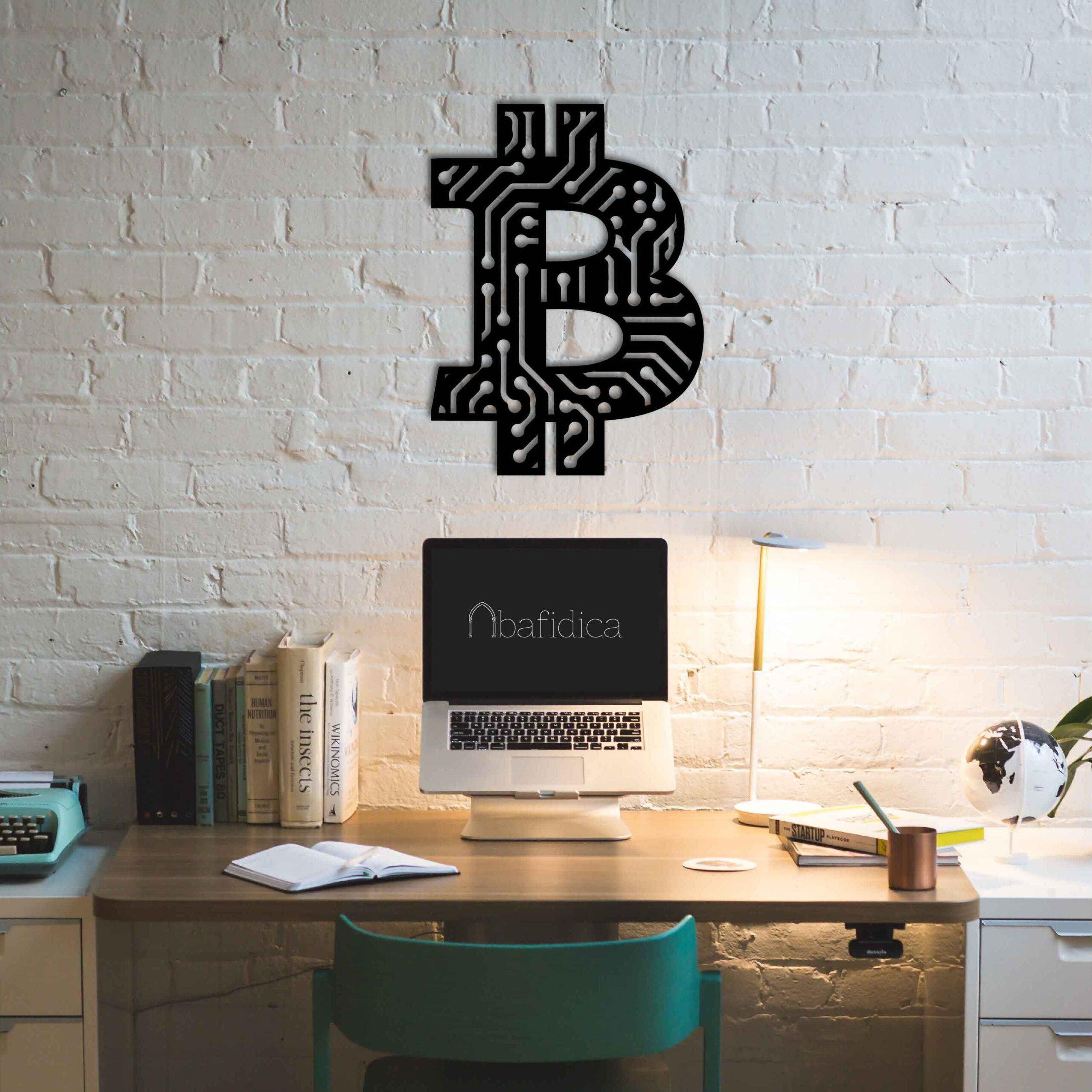 Bitcoin – Metal Wall Art
