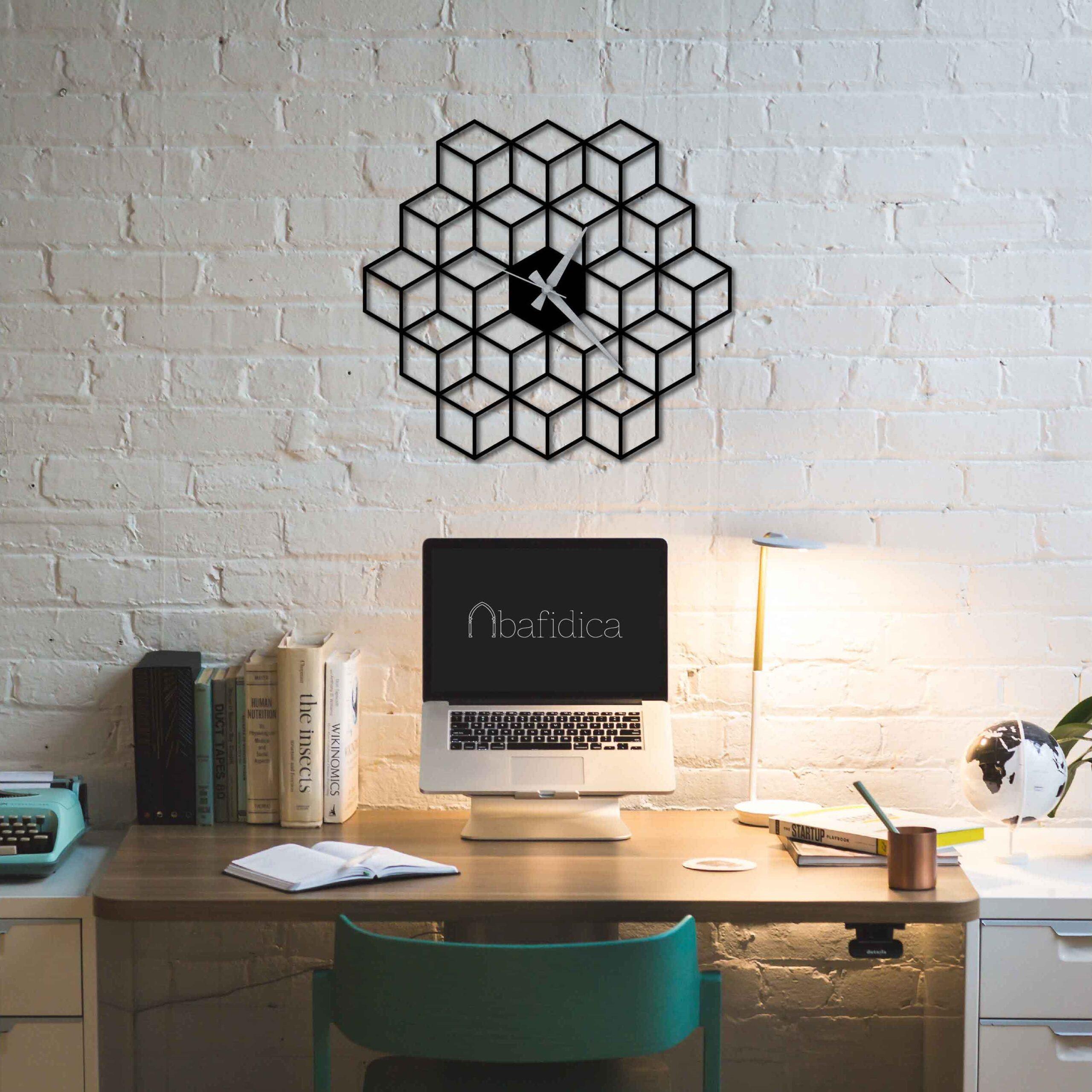 Comb – Metal Wall Clock