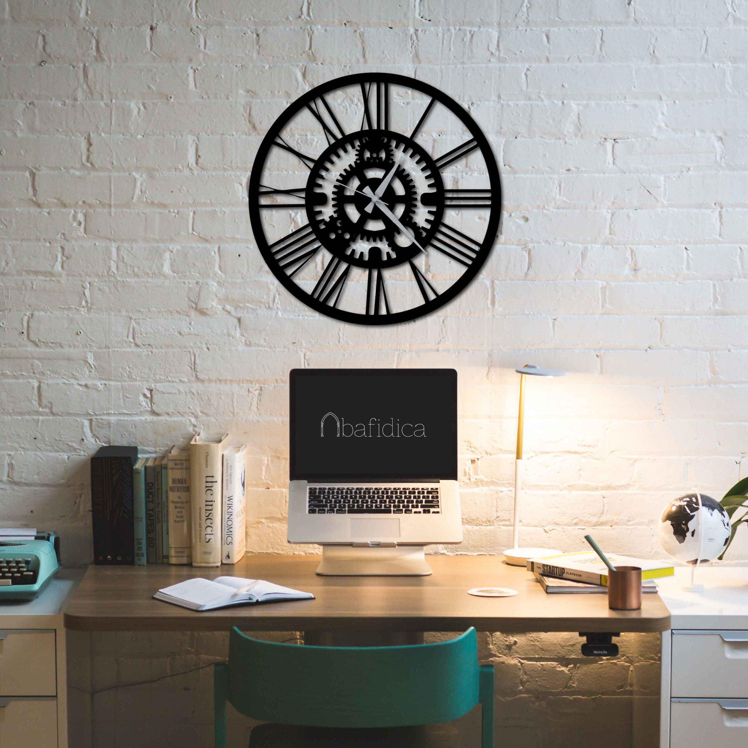 Gear – Metal Wall Clock