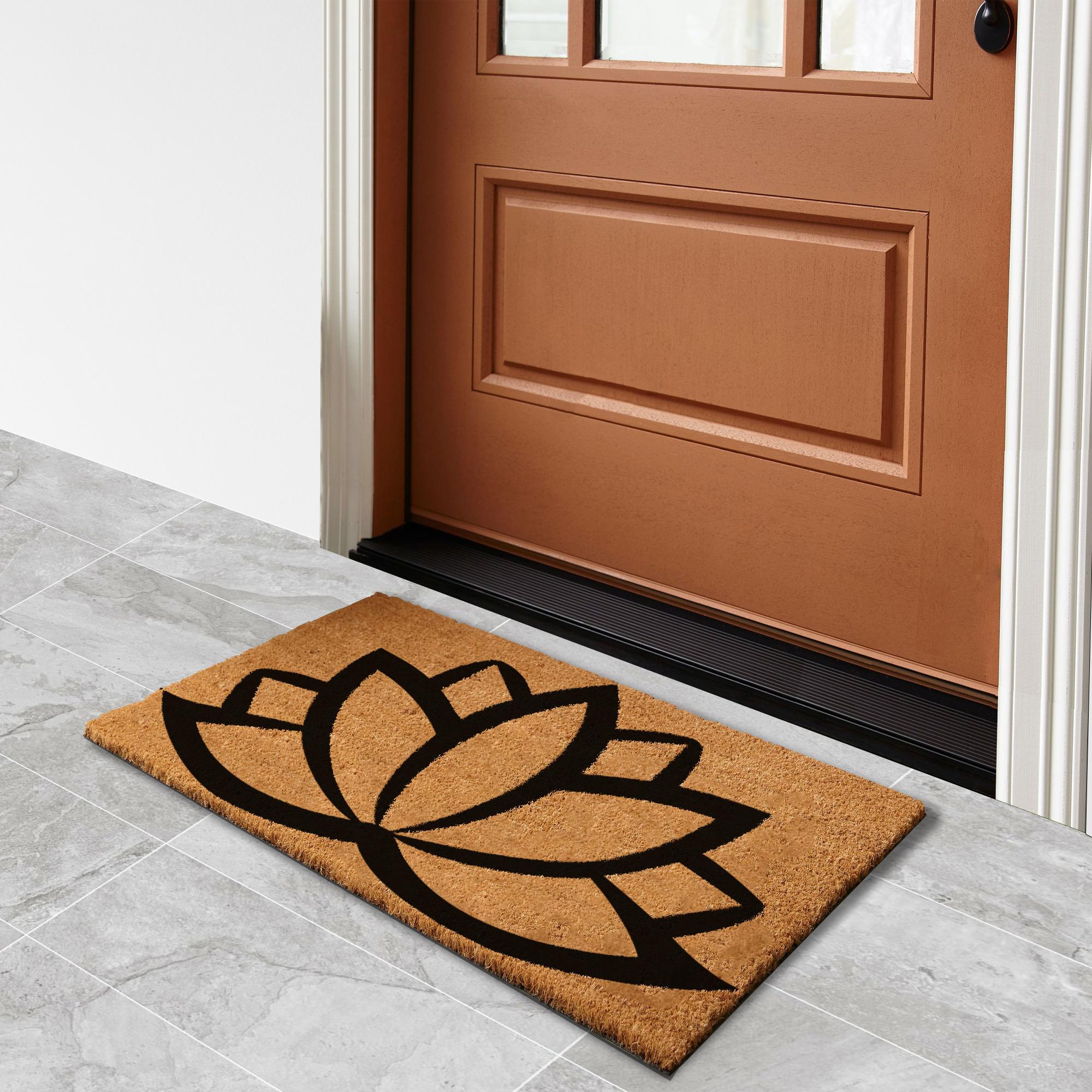 Lotus – Natural Doormat