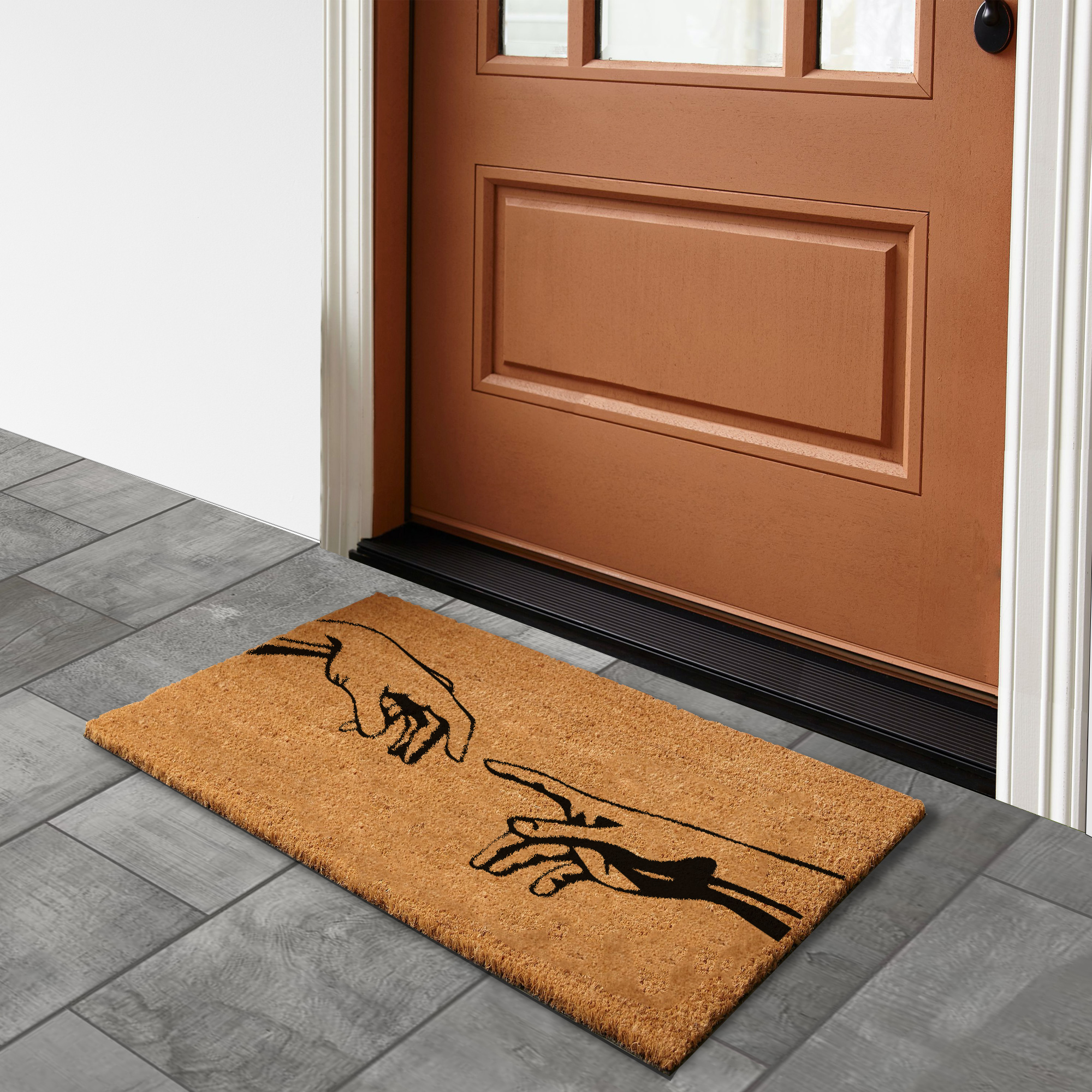 Creation of Adam – Natural Doormat