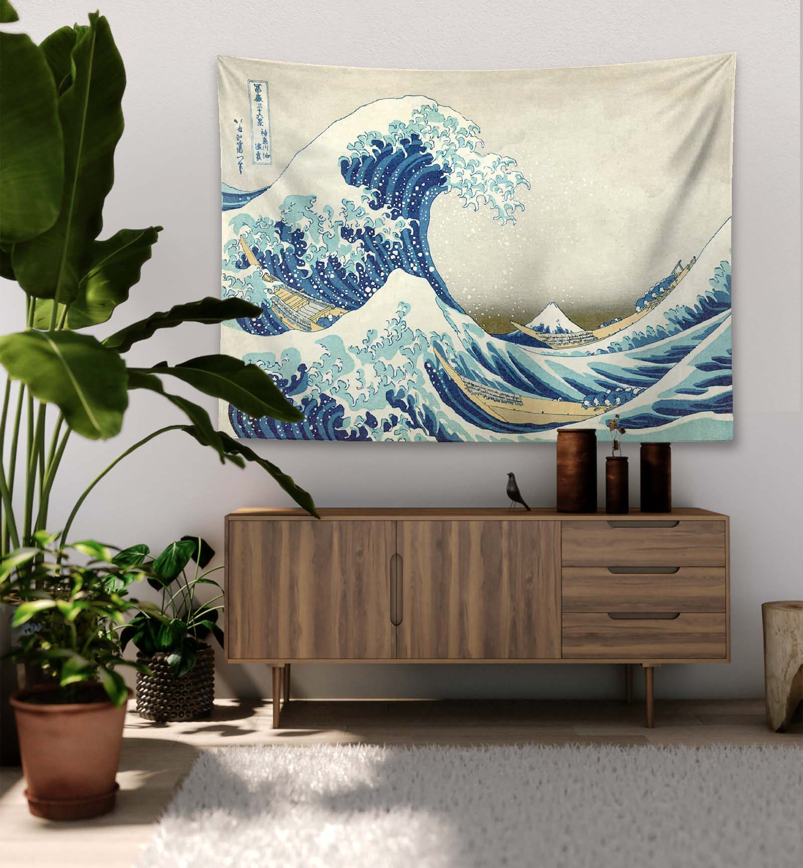 The Great Wave off Kanagawa – Tapestry