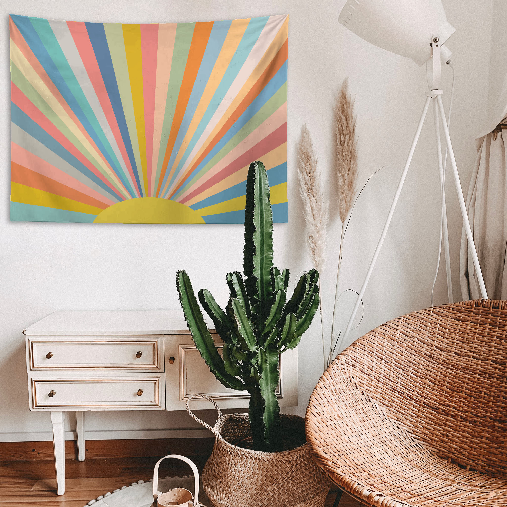 Rainbow and Sun – Tapestry