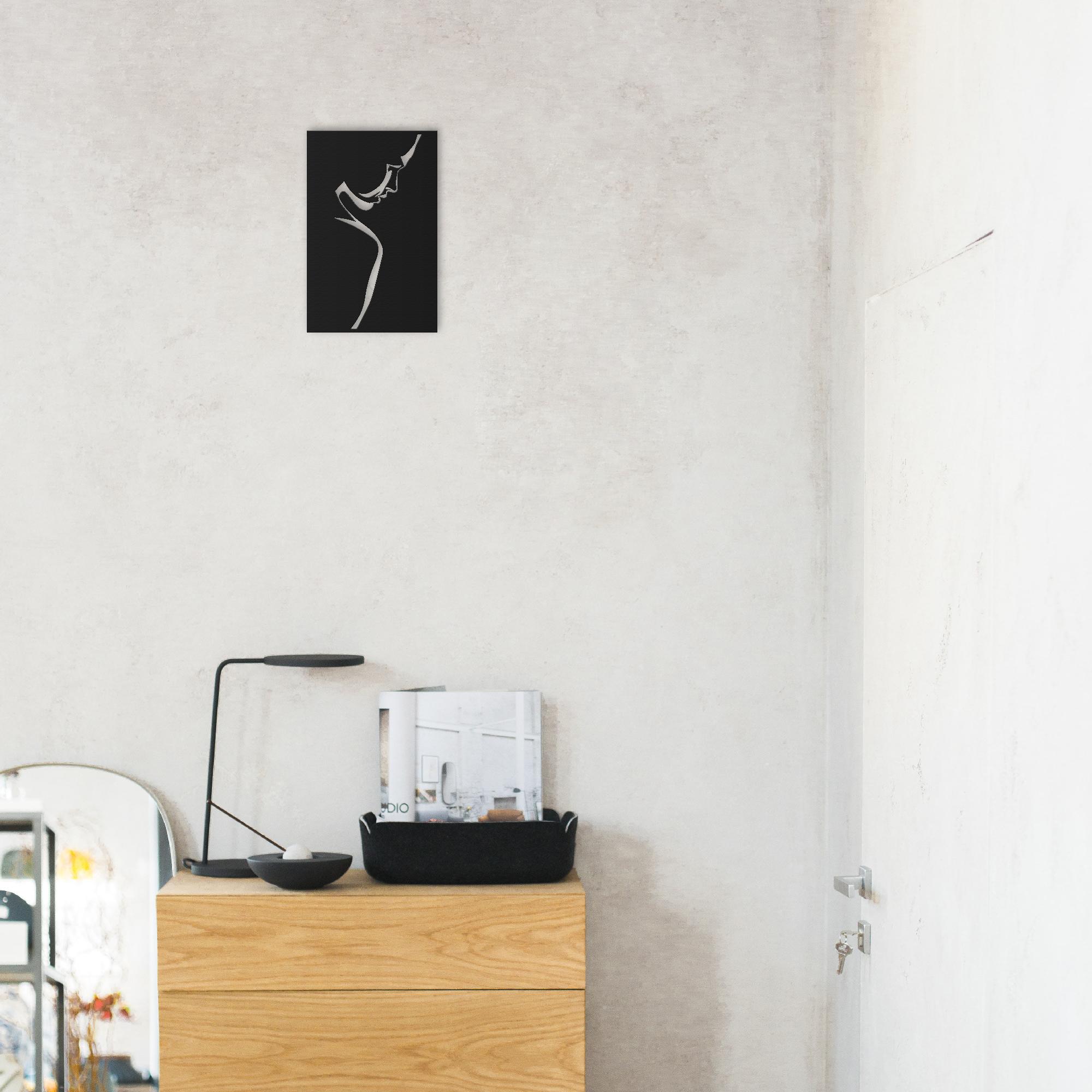 Woman II – Mini Metal Wall Art